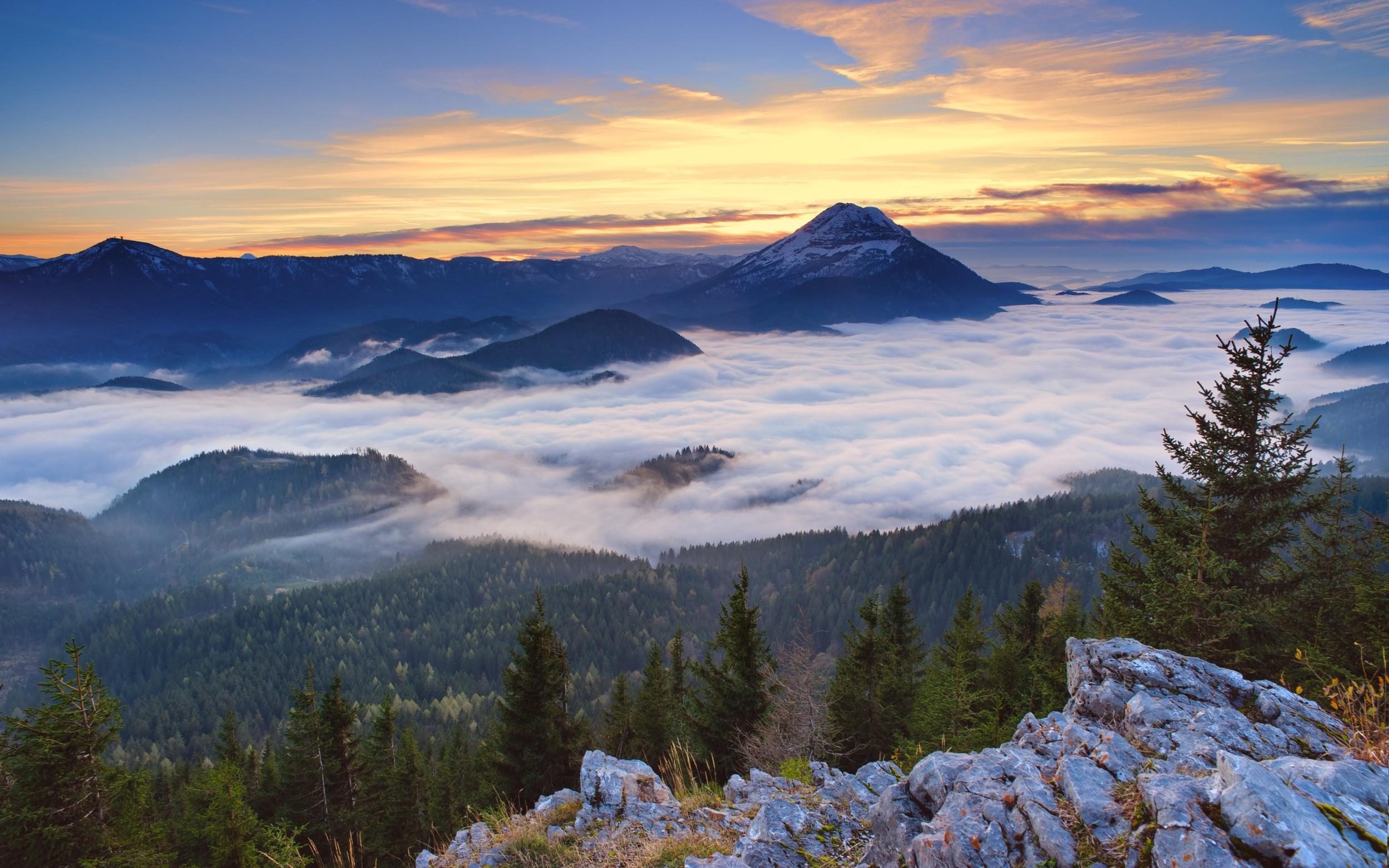 Fondo Escritorio Picos Montañas Nevadas: Fondos De Pantalla : Paisaje, Bosque, Montañas, Lago