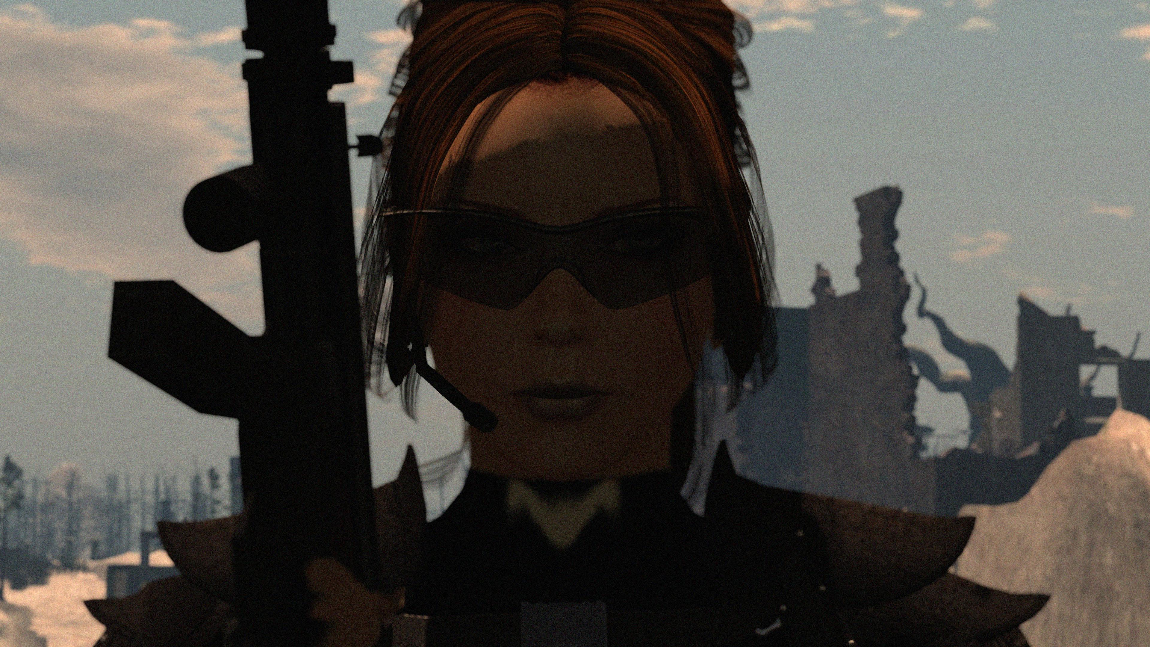 Fondos de pantalla : paisaje, pistola, Gafas de sol, 3D, gafas ...