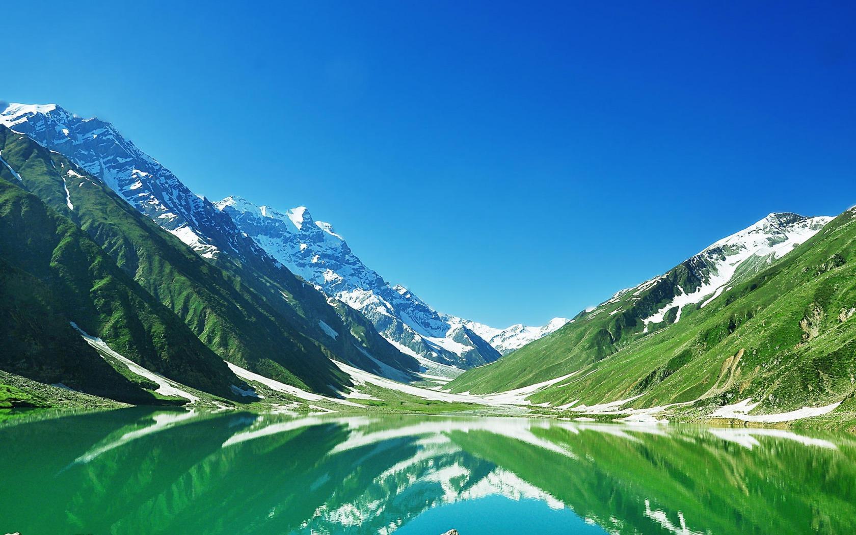 Landscape Hill Lake Nature Fjord Valley Mountain Pass Alps Pakistan Plateau Ridge 2014 Meadow Mountainous
