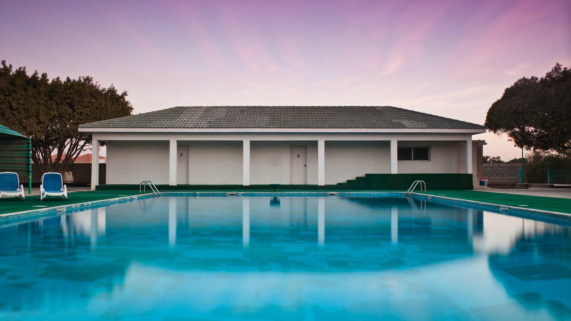 Landschaft Haus Pool Erholungsort Hinterhof Immobilien Zuhause Villa Villa  1920x1080 Px Eigentum Grundeigentum