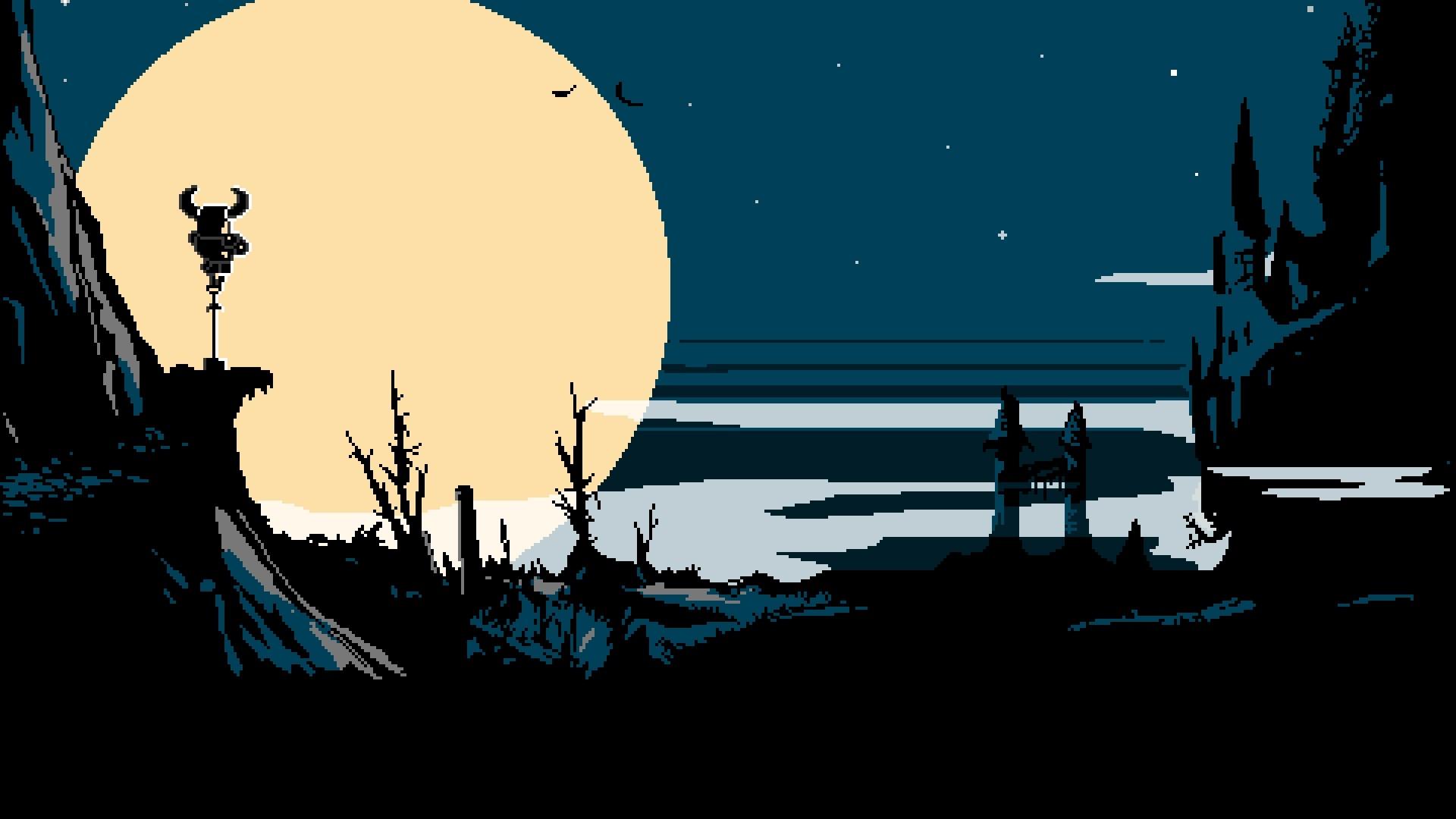 Popular Wallpaper Night Cartoon - landscape-illustration-digital-art-video-games-night-pixel-art-nature-silhouette-stars-branch-Moon-cartoon-hills-retro-games-pixels-8-bit-pixelated-Shovel-Knight-darkness-screenshot-computer-wallpaper-album-cover-24164  Gallery.jpg