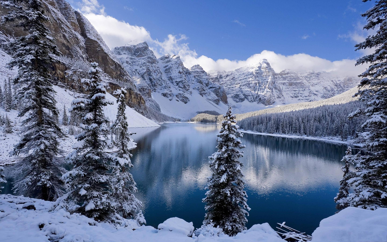 пейзаж картинки природа зима нашел