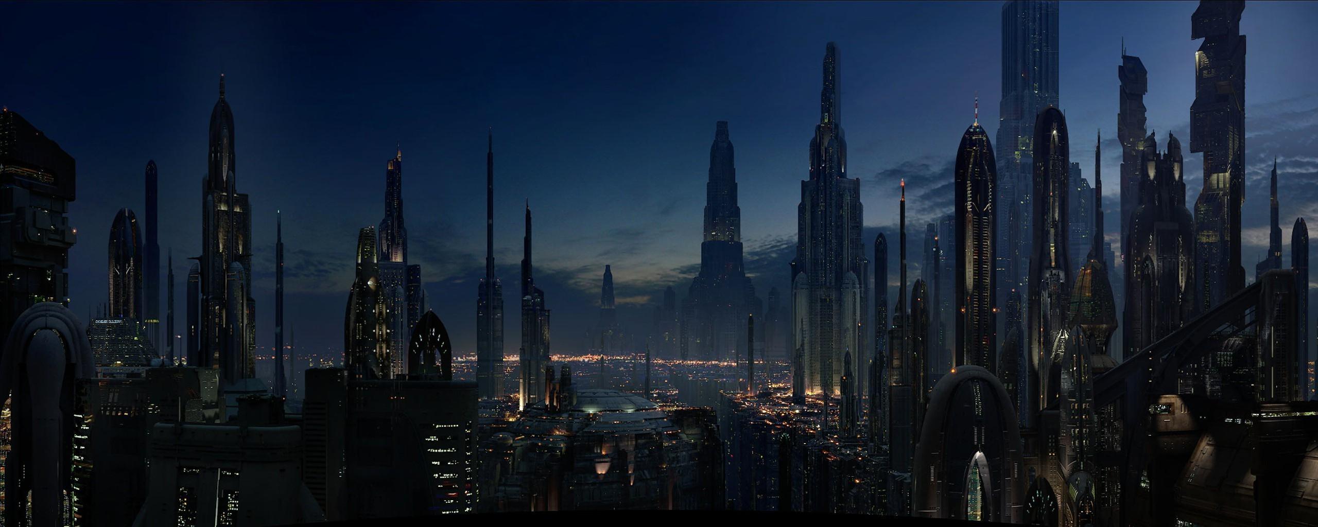 Wonderful Wallpaper High Resolution Sci Fi - landscape-lights-city-cityscape-night-sky-skyline-skyscraper-evening-science-fiction-dusk-metropolis-spire-downtown-darkness-landmark-screenshot-2560x1024-px-urban-area-metropolitan-area-human-settlement-704529  Image_82591.jpg