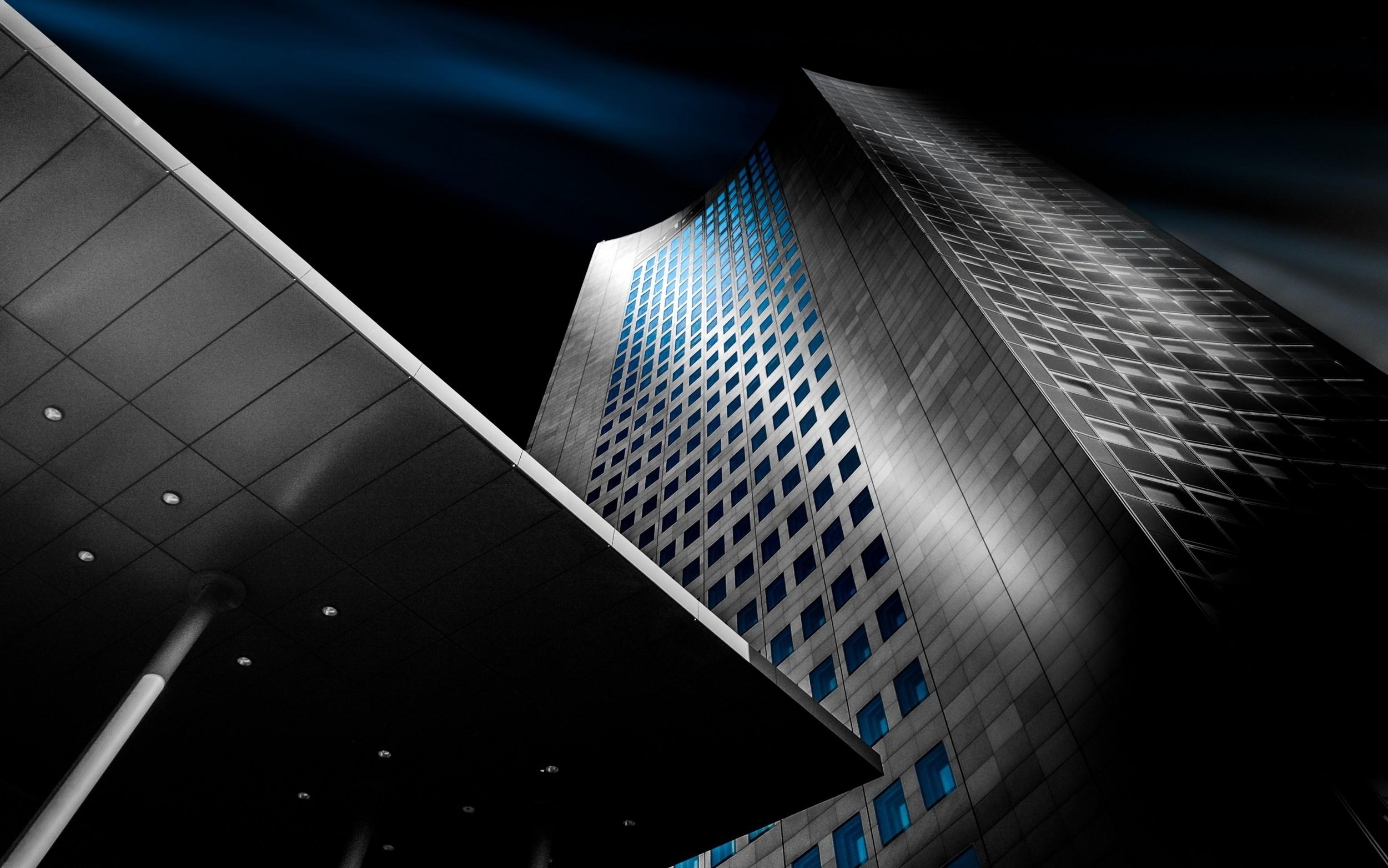Stehlen Modern hintergrundbilder landschaft beleuchtung weiß schwarz