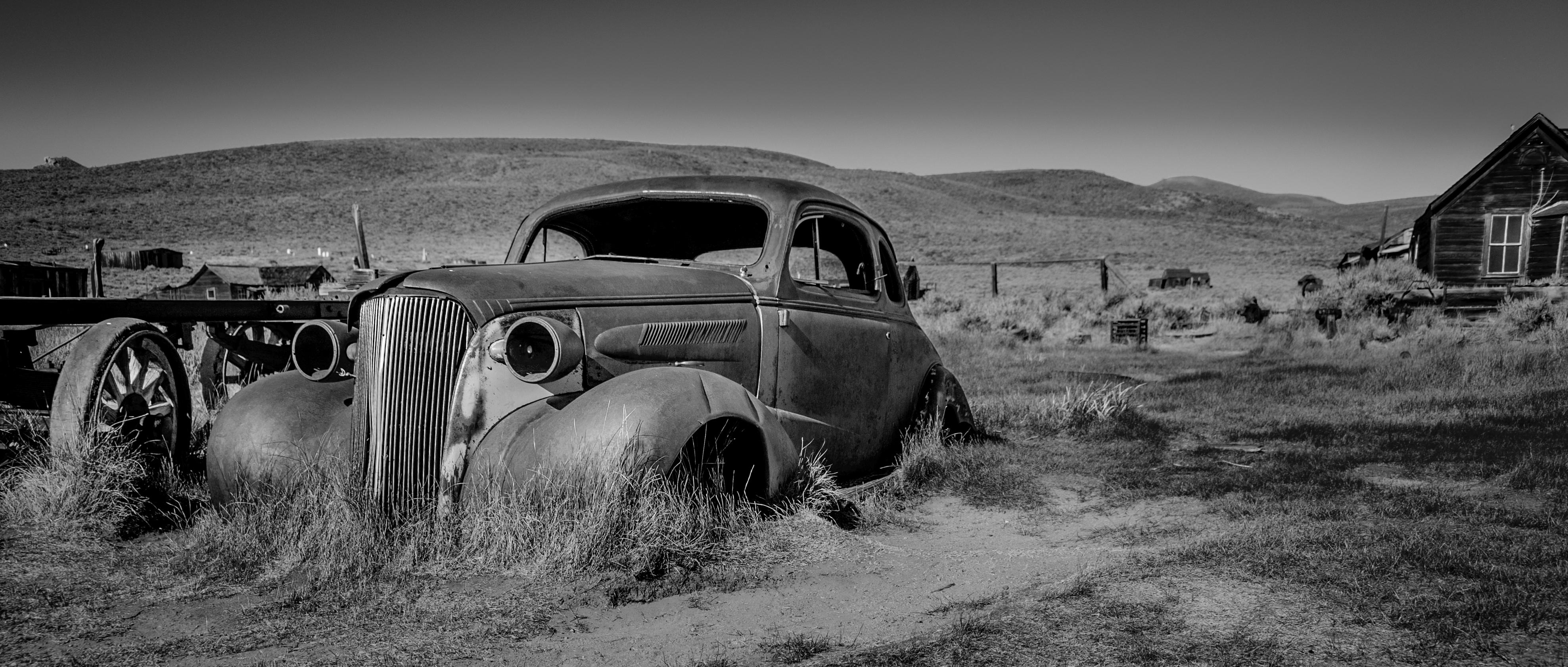 Wallpaper : landscape, ruin, sky, park, historic, California, decay ...