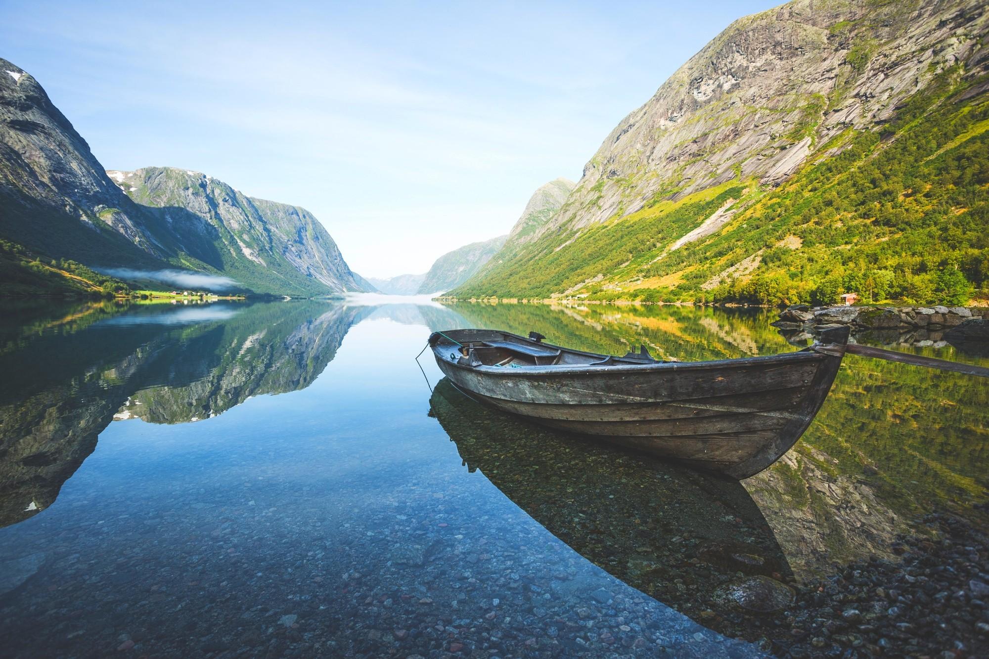 лучше подавать картинка норвегия природа дома объявился трехцветный