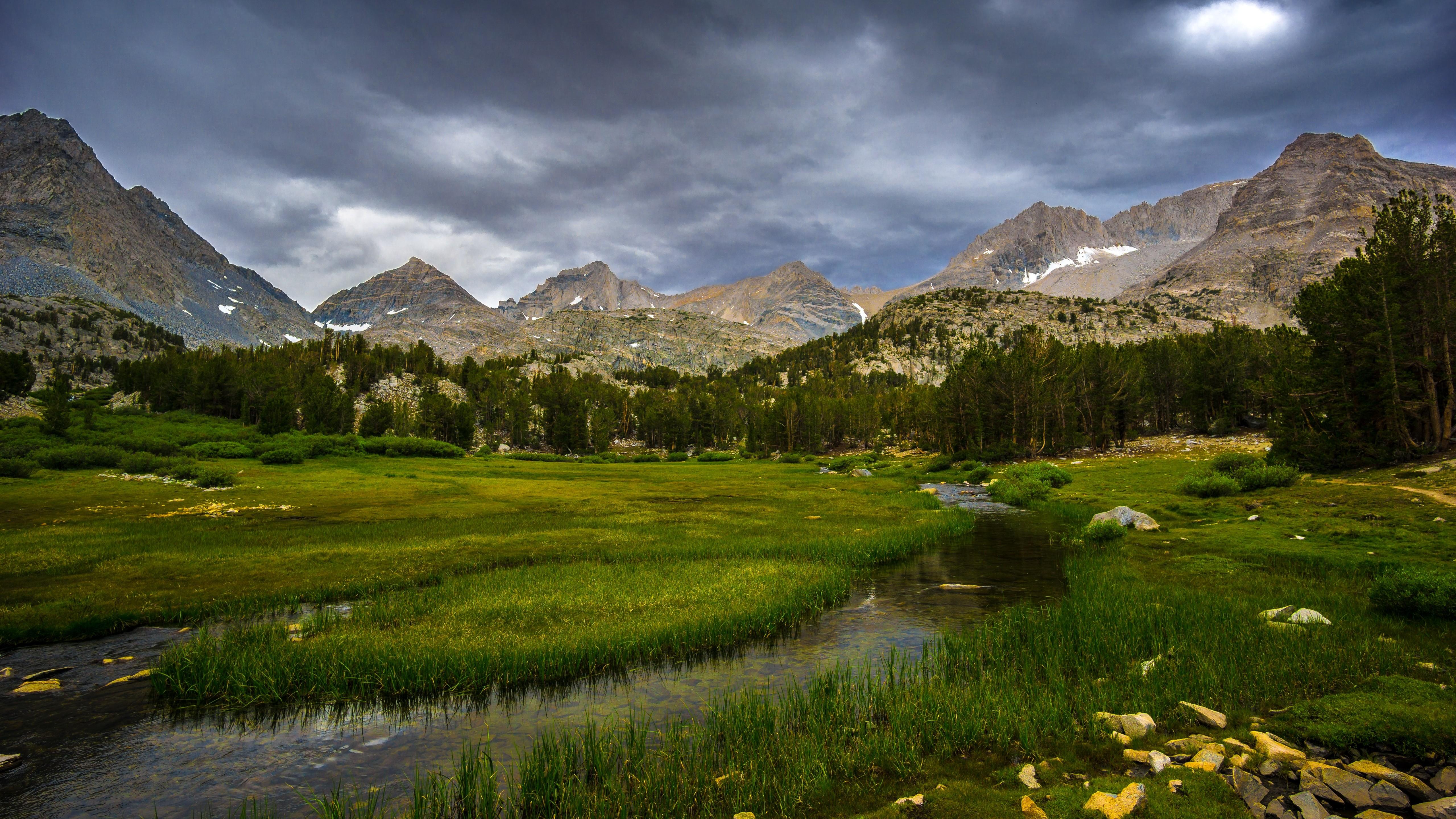 фото горная долина природа