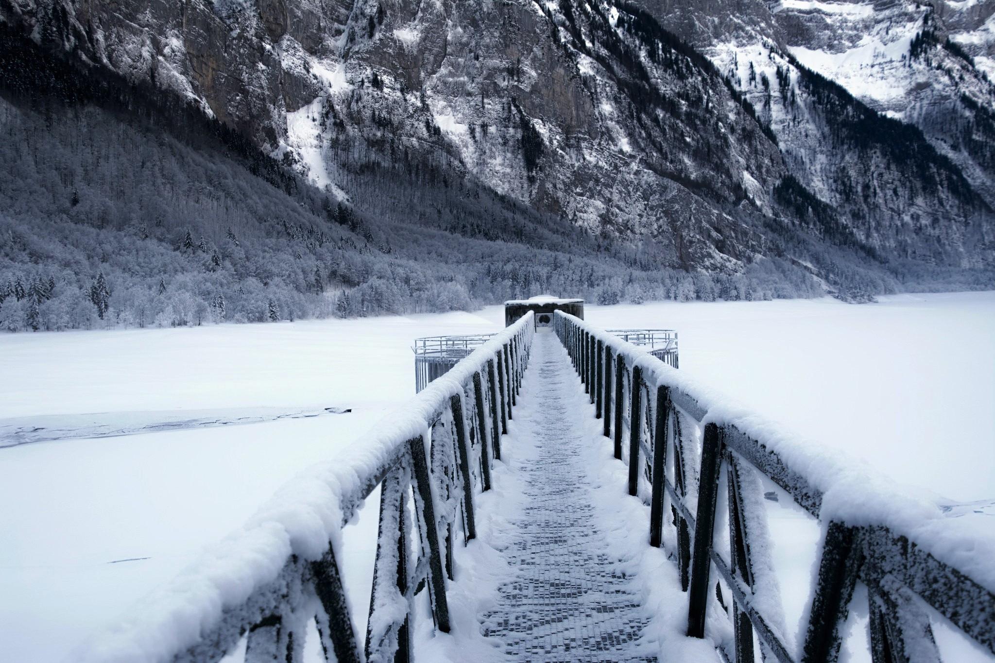 Wallpaper : landscape, mountains, nature, snow, winter, ice