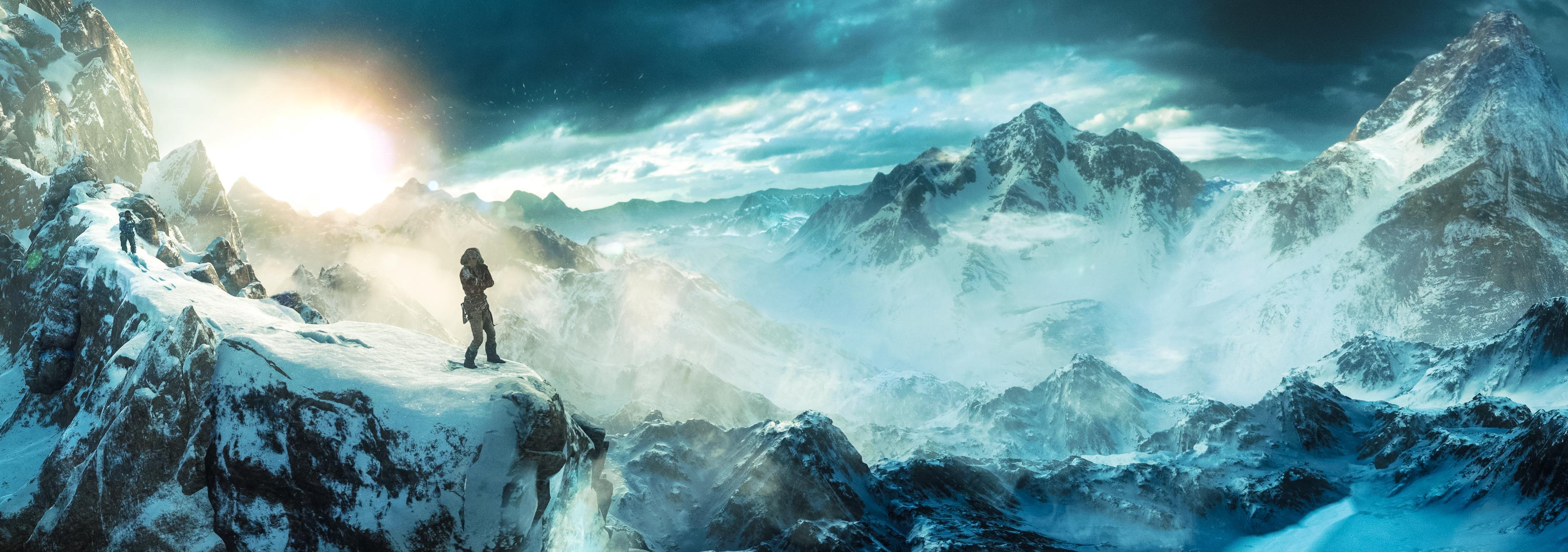Sfondi Montagne Acqua Roccia Natura Cielo La Neve Terra