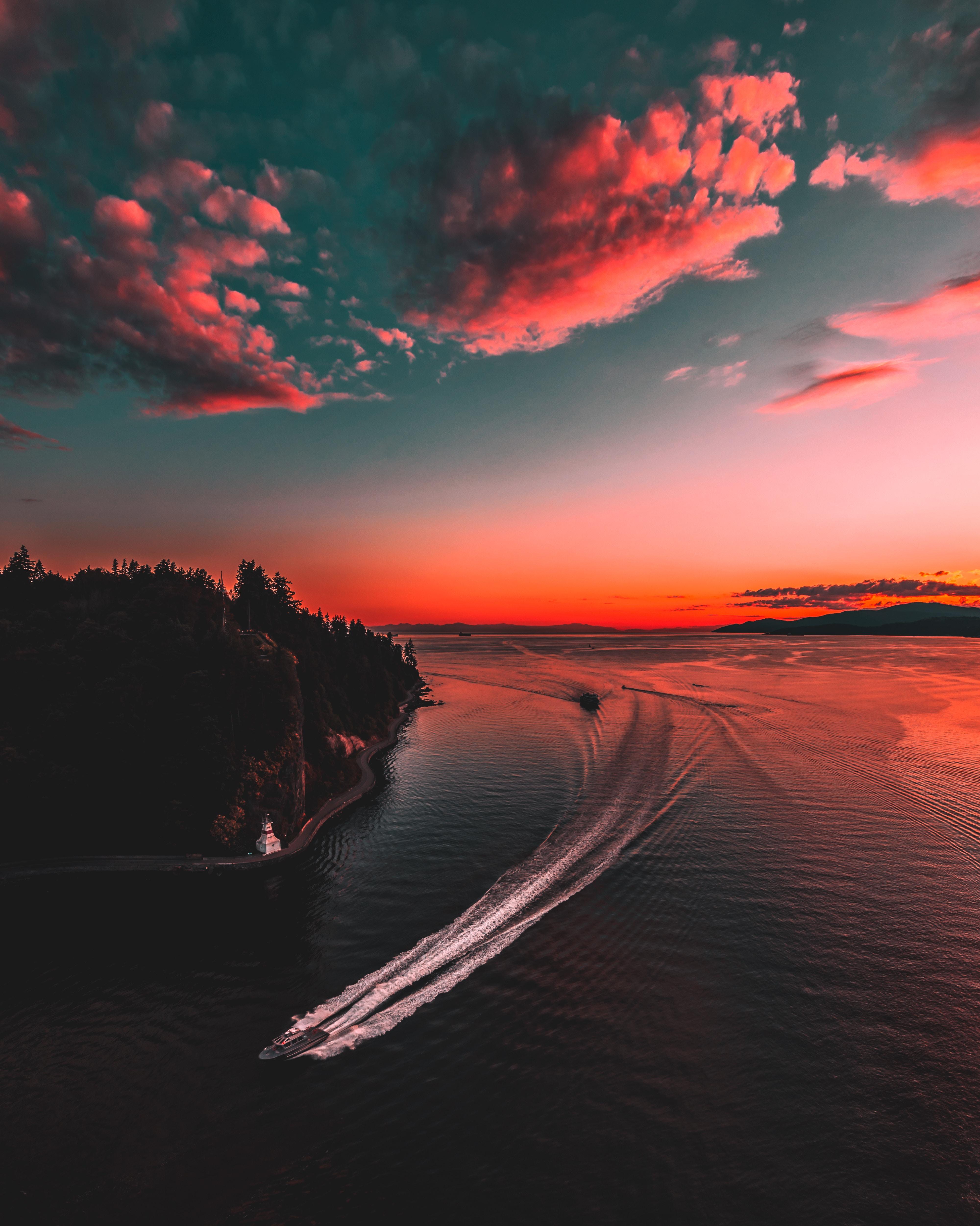 красивый закат фото хорошего качества благодарностью пришли, что