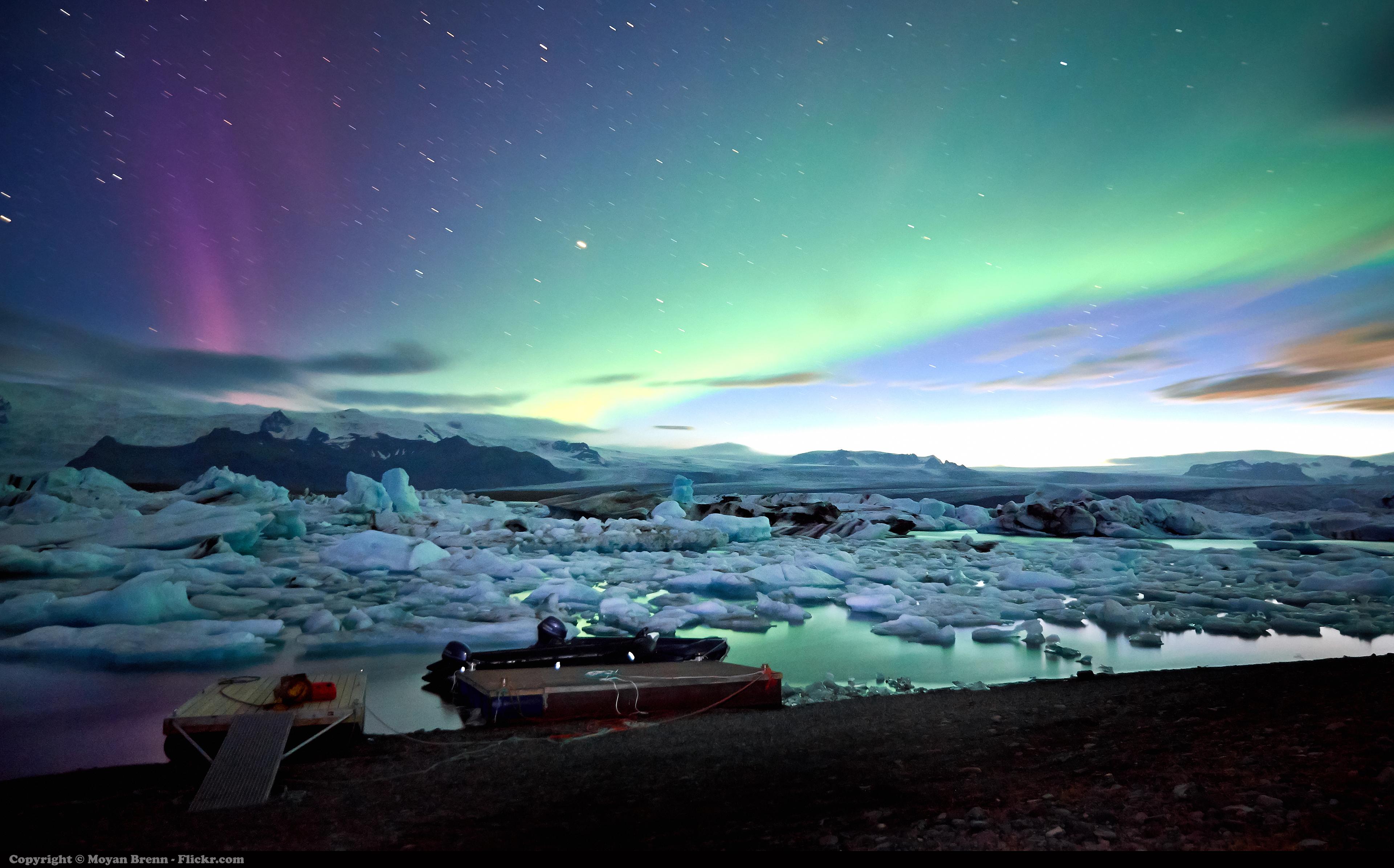 Wallpaper Landscape Nature Sky Arctic Universe Aurora