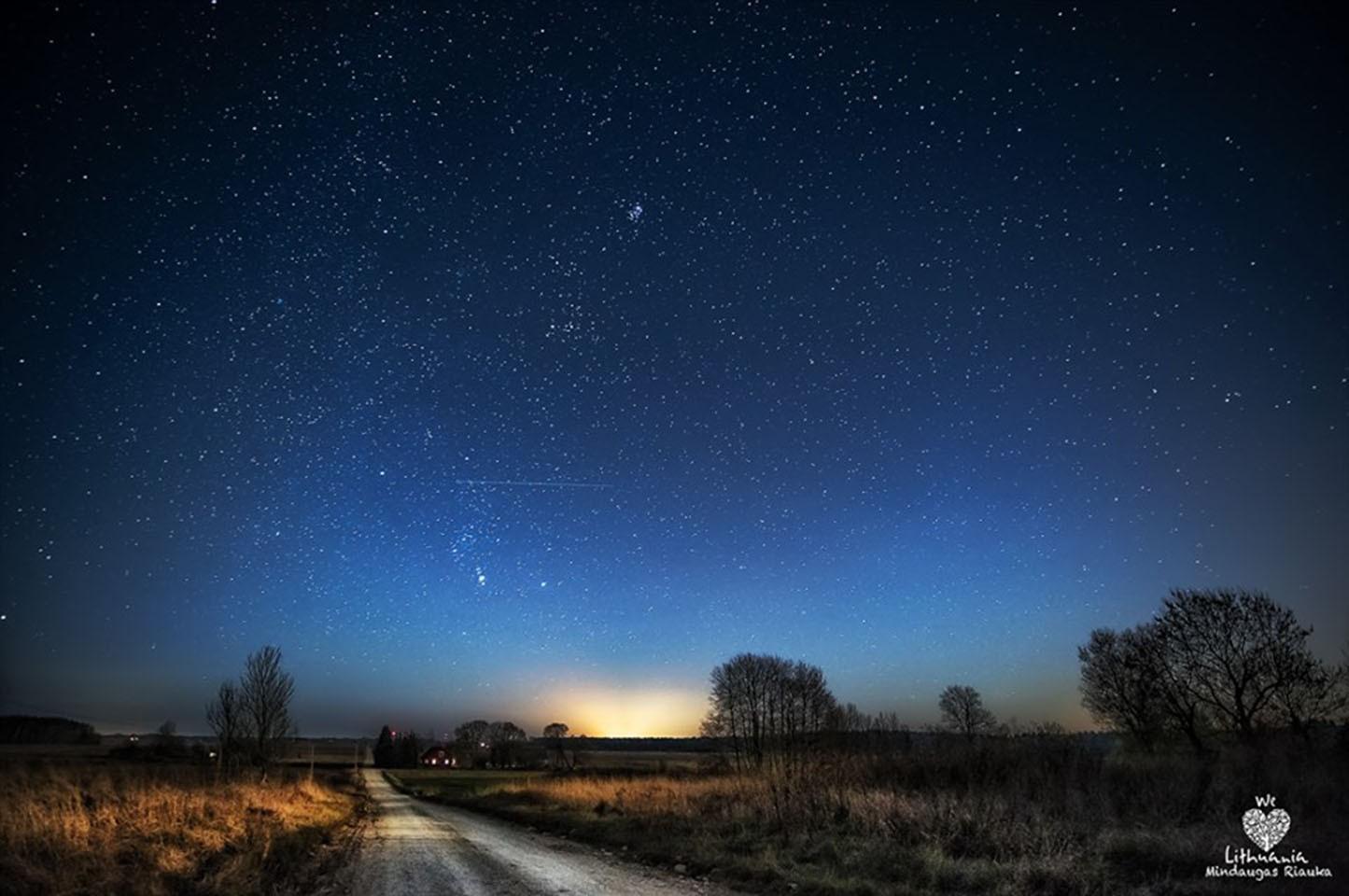 картинка ясное ночное небо этот