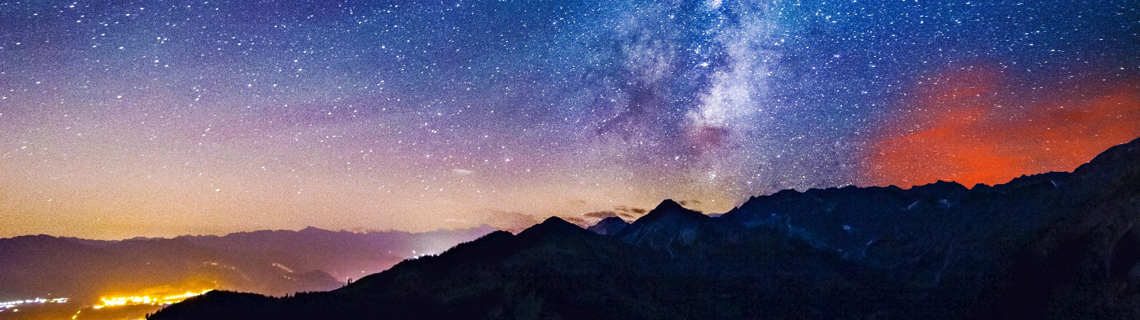 Fond d'écran : paysage, nuit, galaxie, la nature, espace, ciel, Terre, atmosphère, Affichage ...