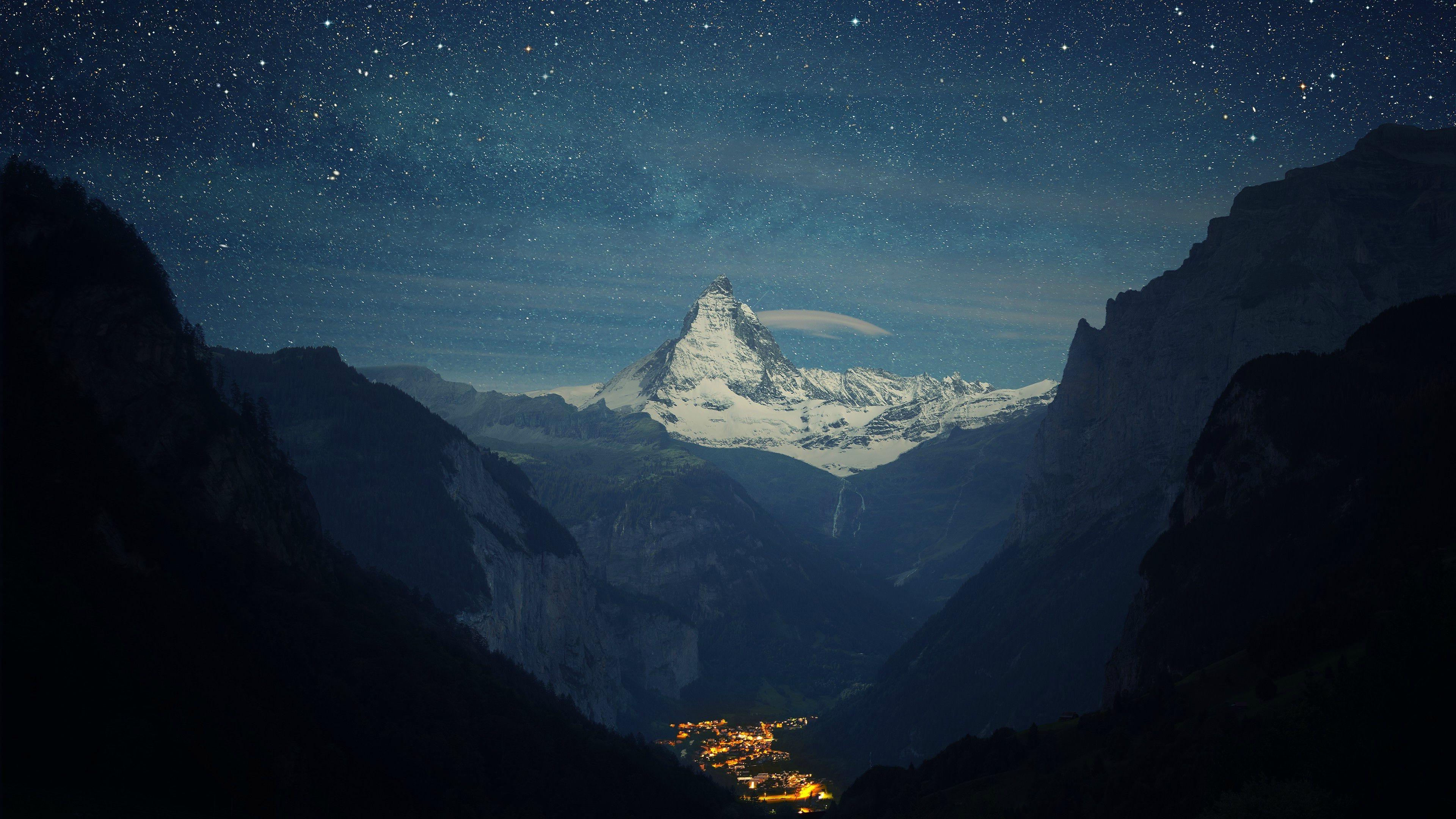 Обои Пейзаж, ночь, свет. Пейзажи foto 15