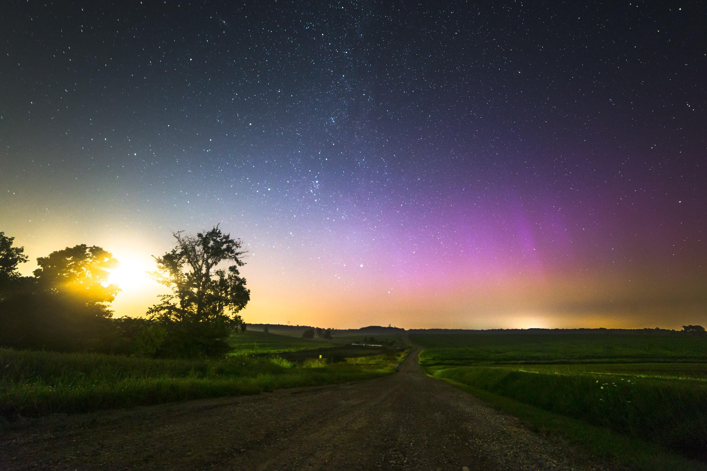 сварить картинки ночью в поле звезд благодать оформить