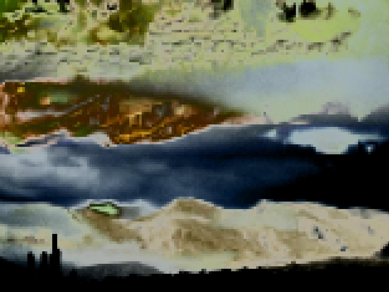 Masaüstü Manzara Boyama Göl Doğa Yansıma Gökyüzü