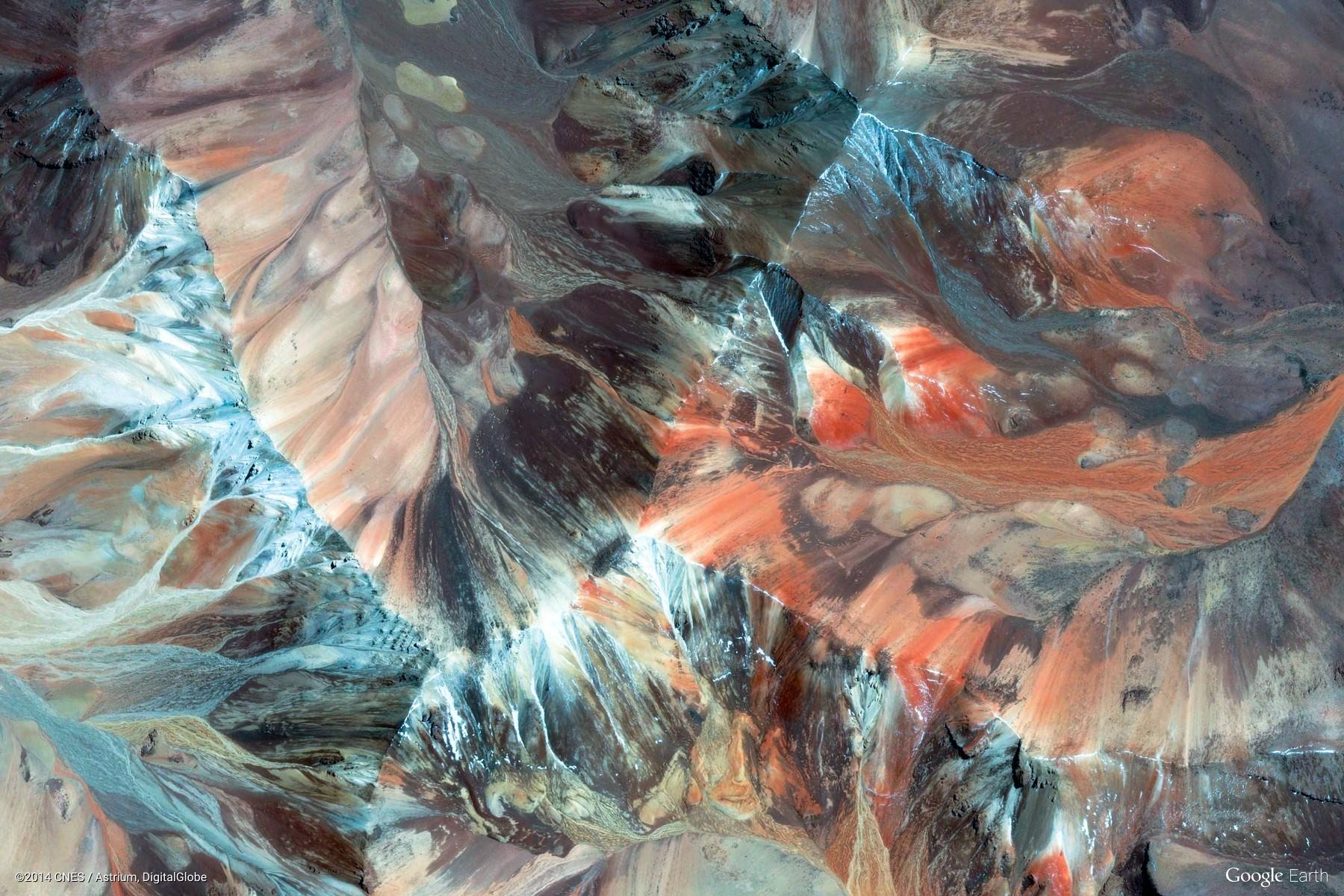 Fond Décran Paysage La Peinture Montagnes La Nature Terre