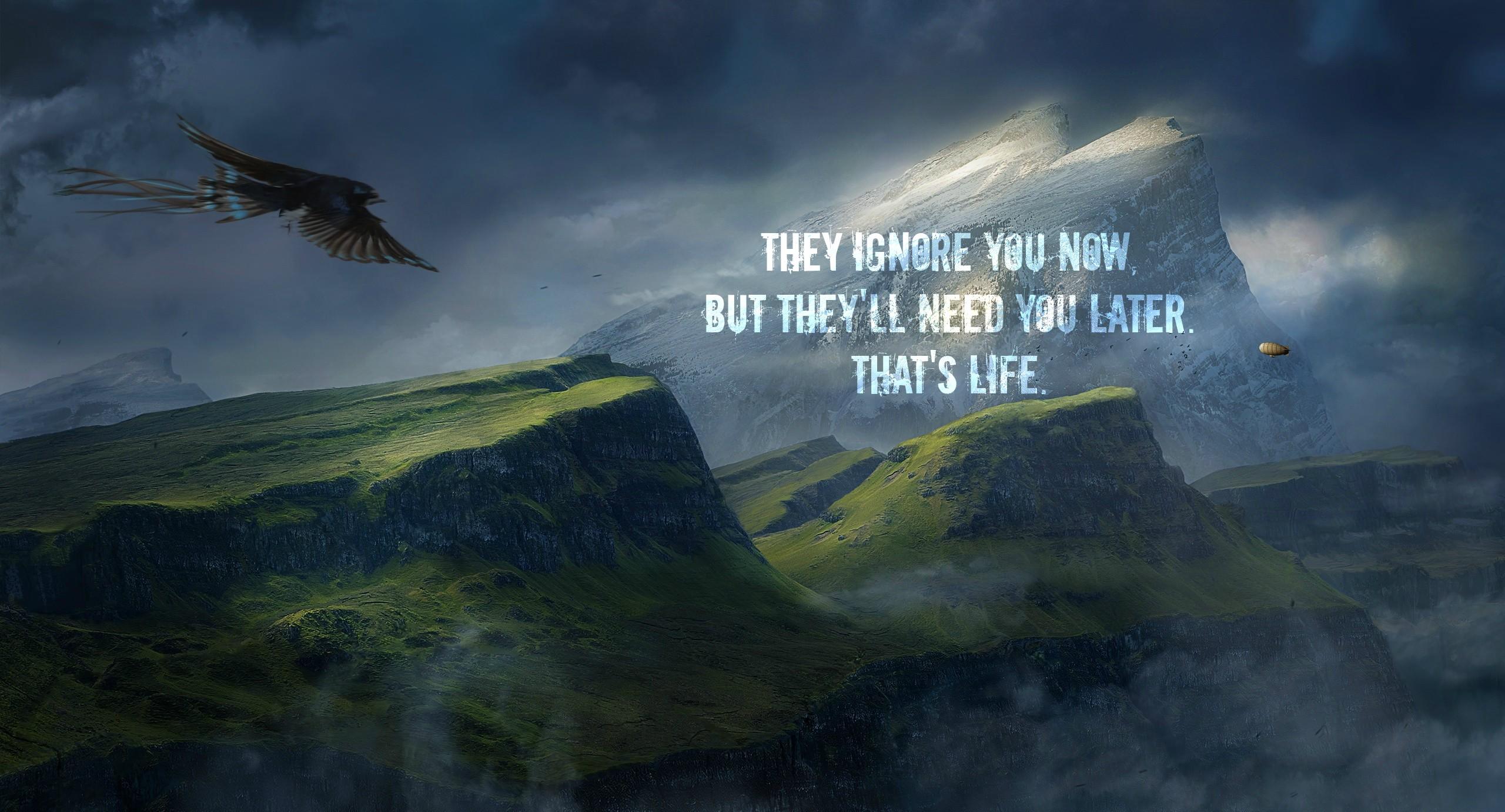 Amazing Wallpaper Mountain Quote - landscape-quote-digital-art-birds-animals-nature-sky-atmosphere-inspirational-eagle-cloud-mountain-darkness-screenshot-computer-wallpaper-mountain-range-meteorological-phenomenon-phenomenon-2560x1383-px-visual-effects-787699  Picture_487084.jpg