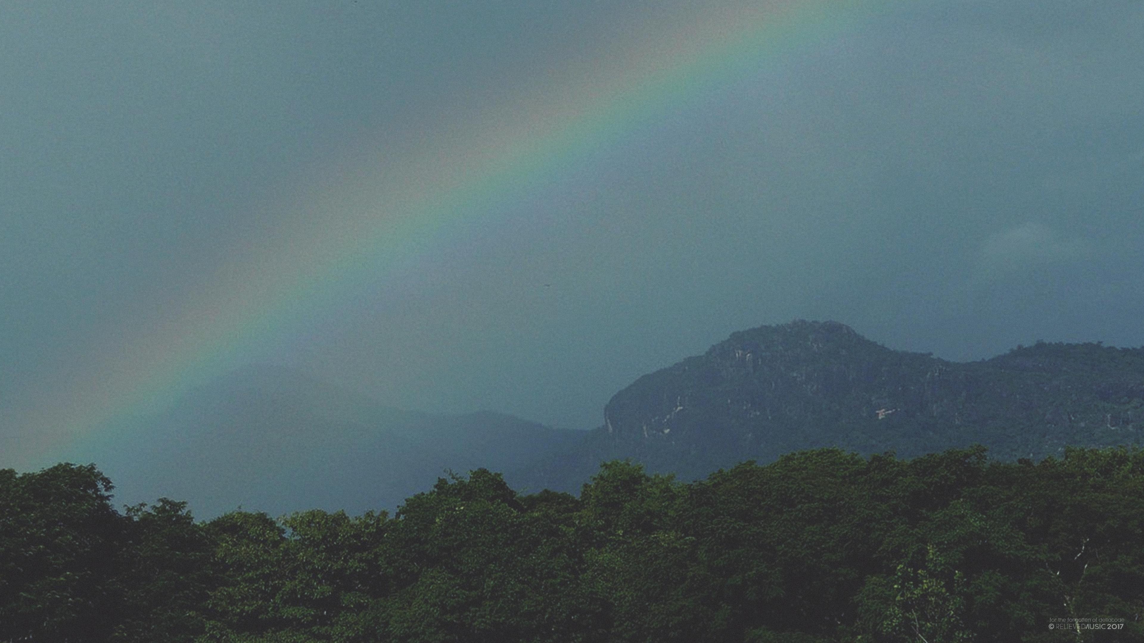 Wallpaper : pemandangan, pelangi, pegunungan 3840x2160