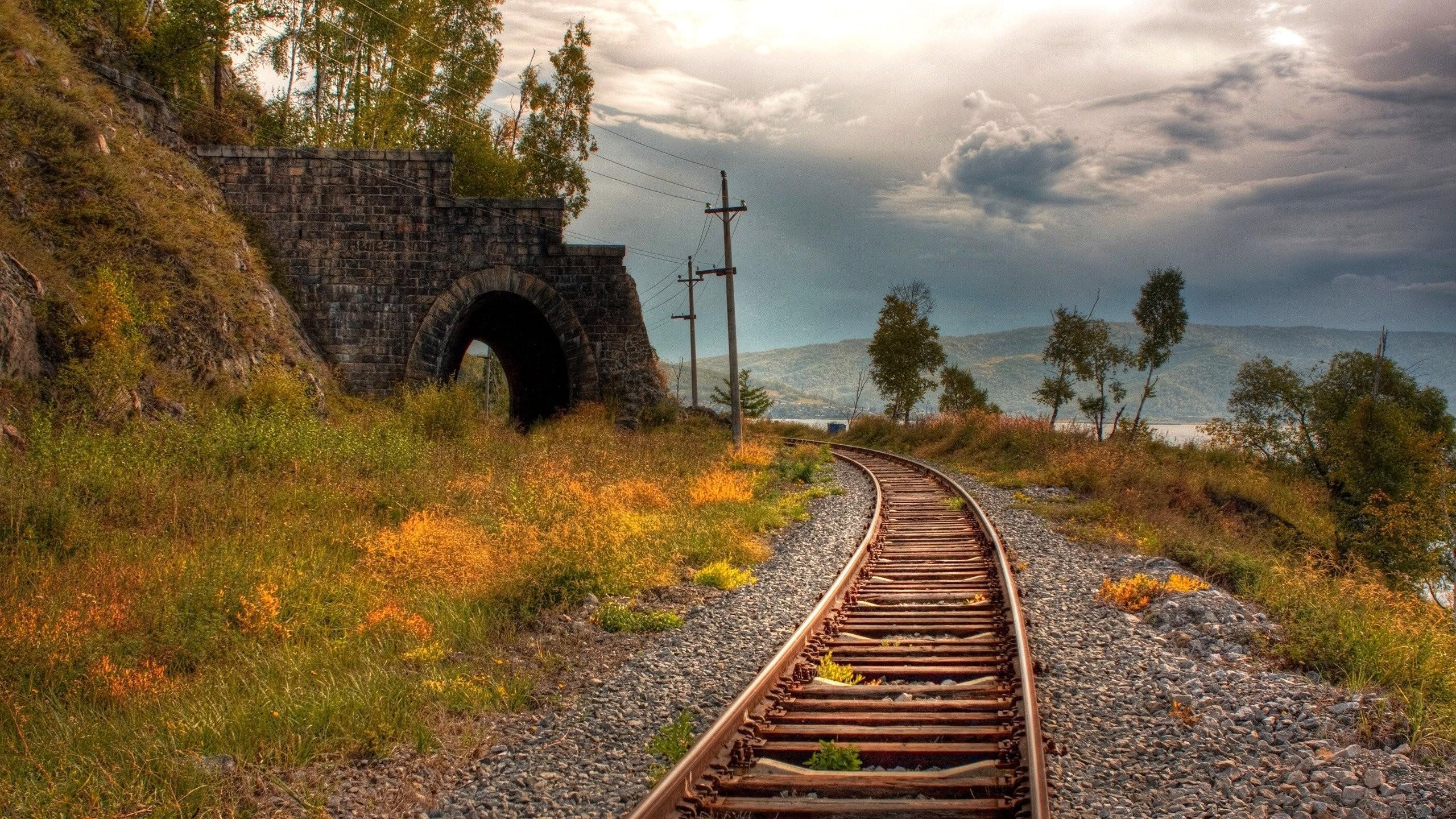 качественные фото железной дороги несколько основных