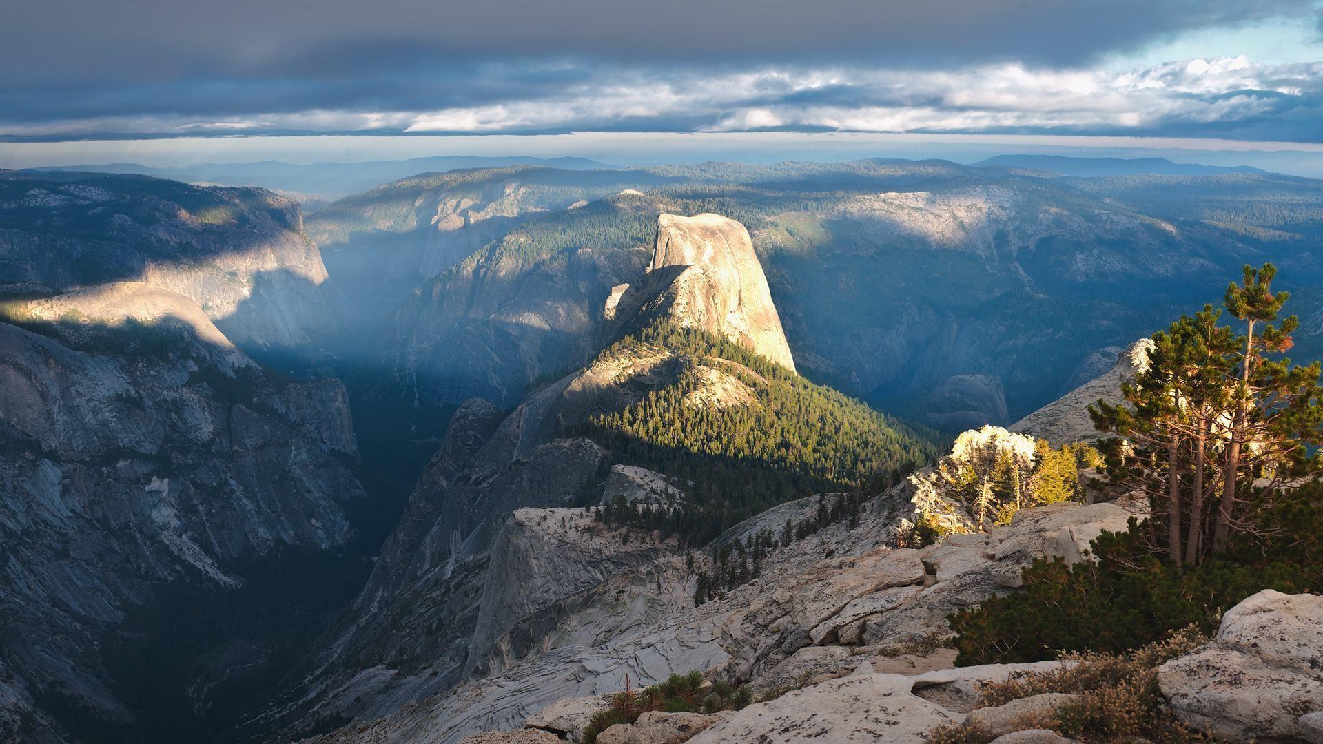 Wallpaper : landscape, rock, nature, sky, cliff, Yosemite