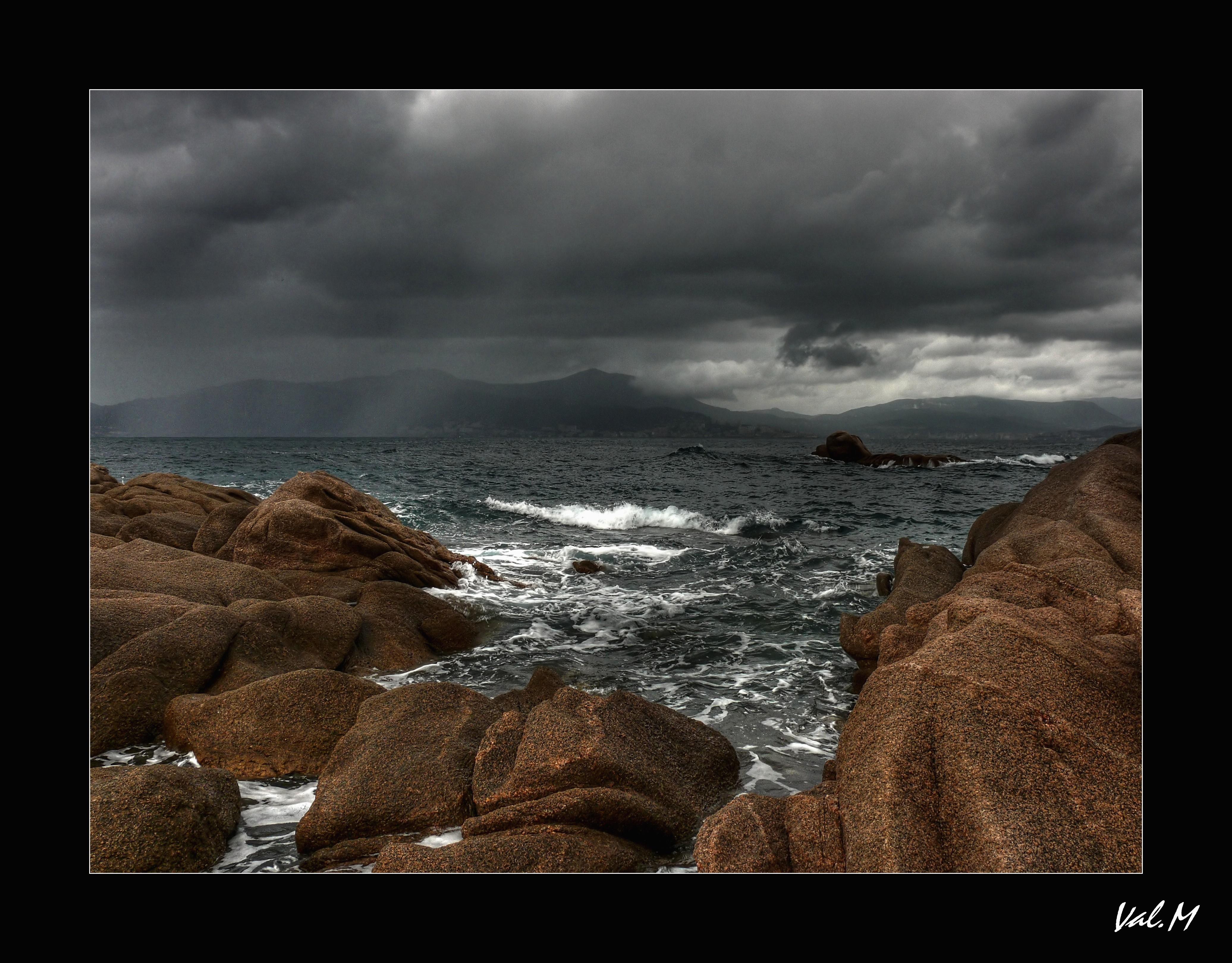 Wallpaper Landscape Sea Mediterranean Rock Shore Sky Calm
