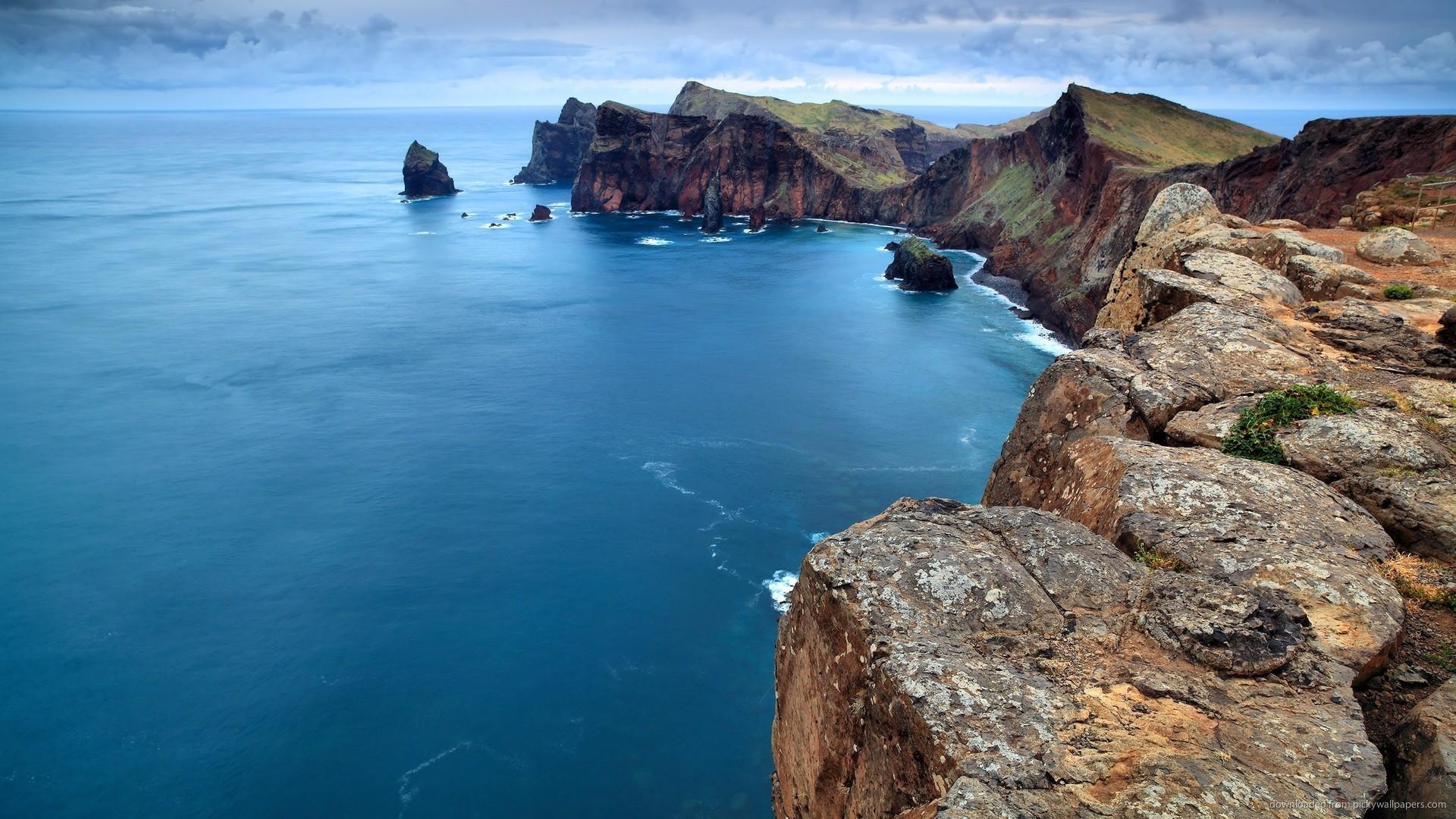 долго обои море берег скалы первой трети