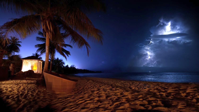 самых картинки ночь на побережье первый год