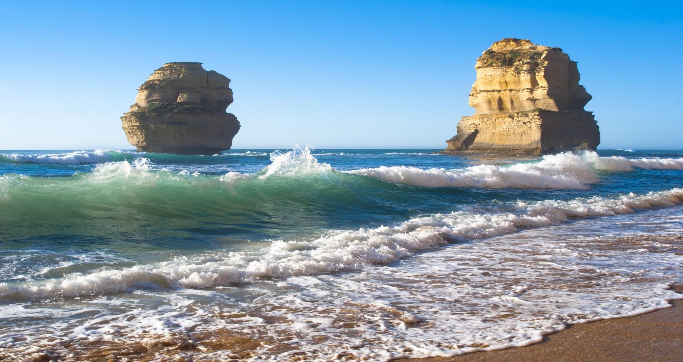 Wallpaper Landscape Sea Rock Nature Shore Sand Beach