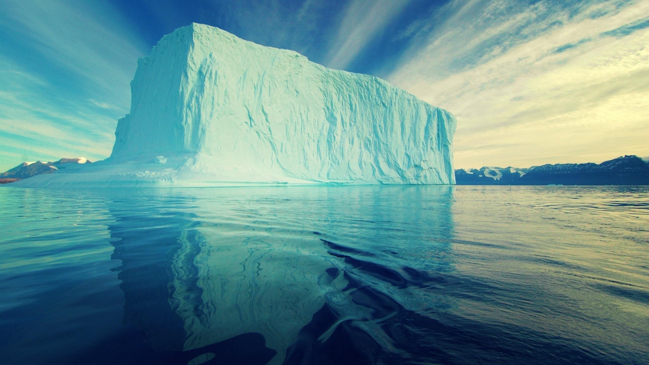 Wallpaper Landscape Nature Reflection Sky Snow Clouds Iceberg Calm Blue Glaciers Antarctica Horizon Arctic Freezing Melting Wave
