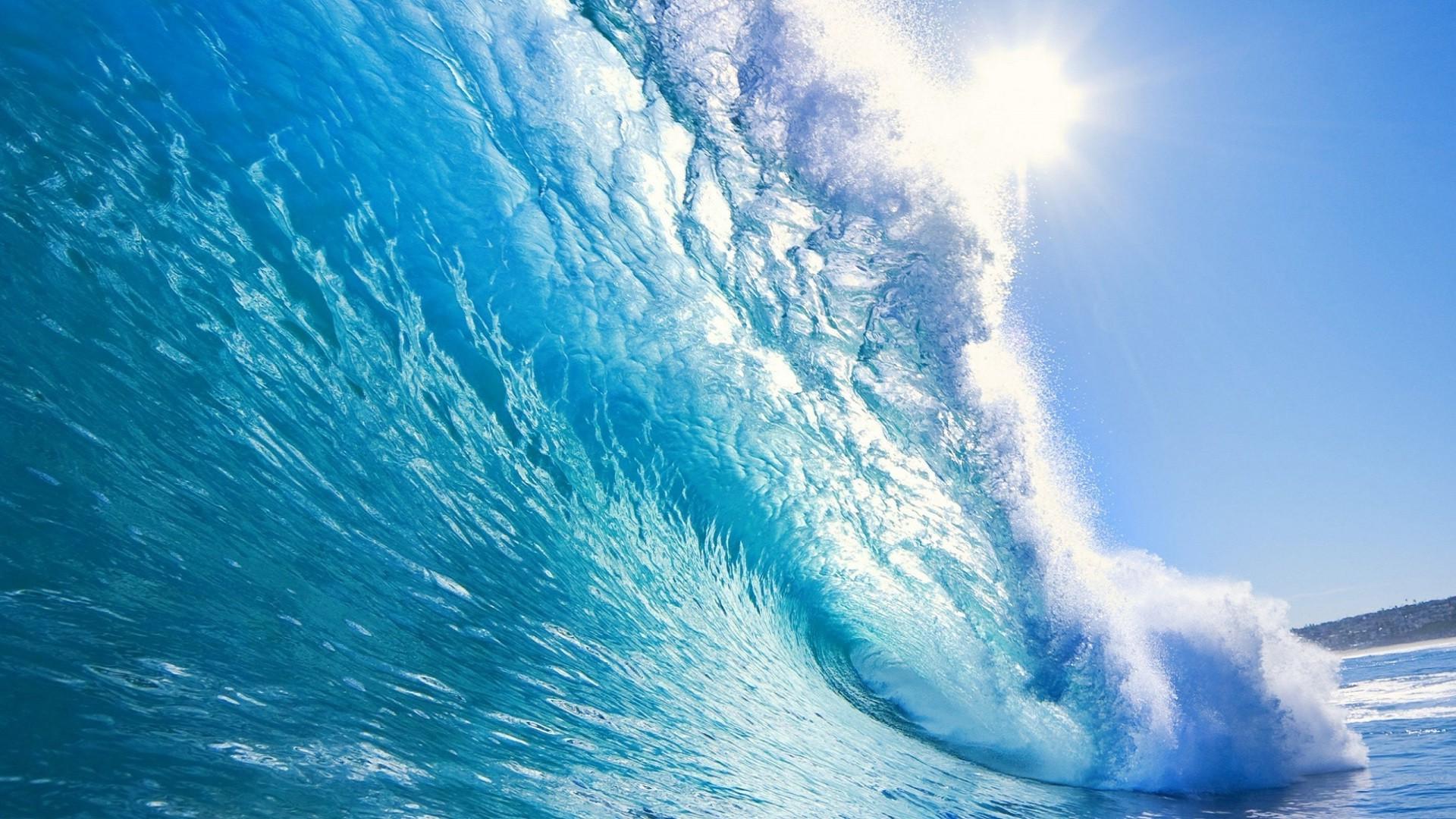 Обои волны. Пейзажи foto 16
