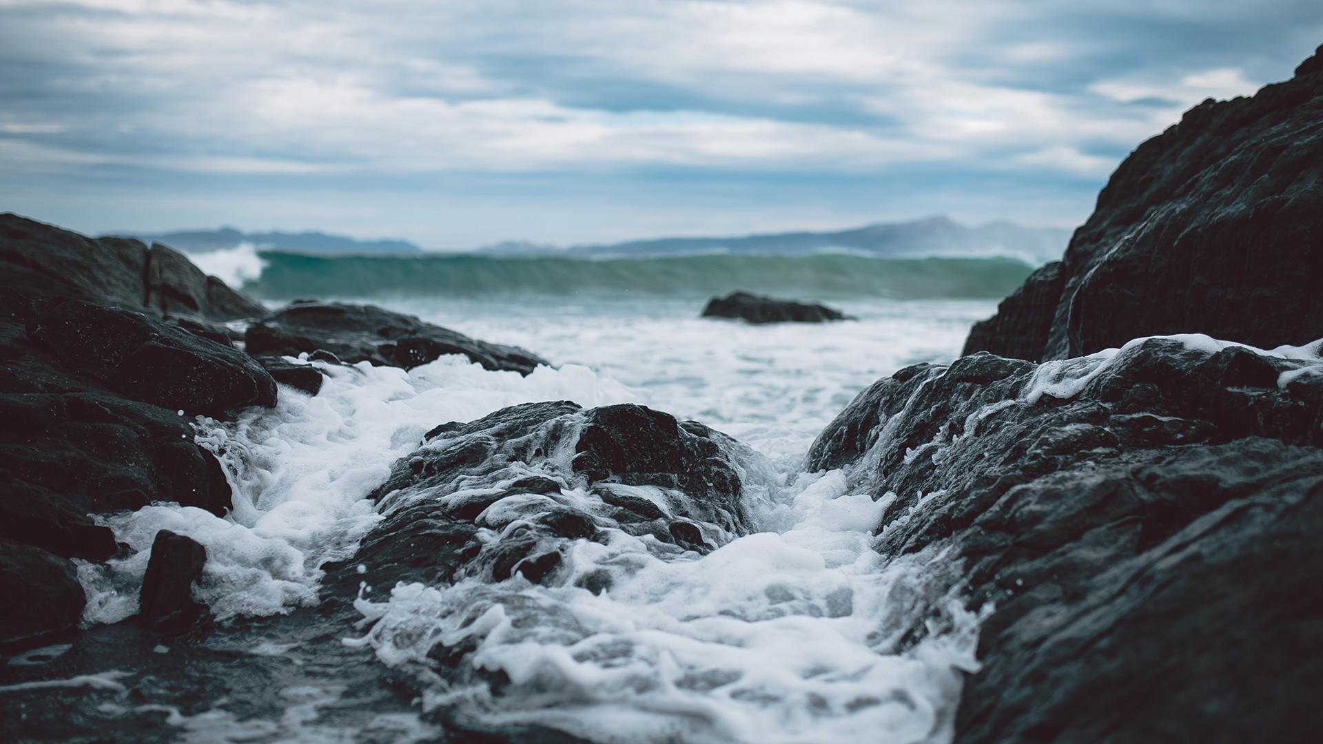 Wallpaper : landscape, sea, rock, nature, shore, coast
