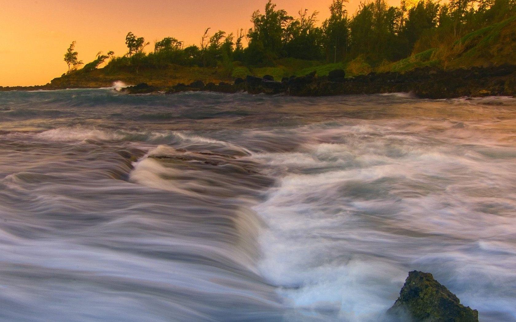 Wind River Stream German