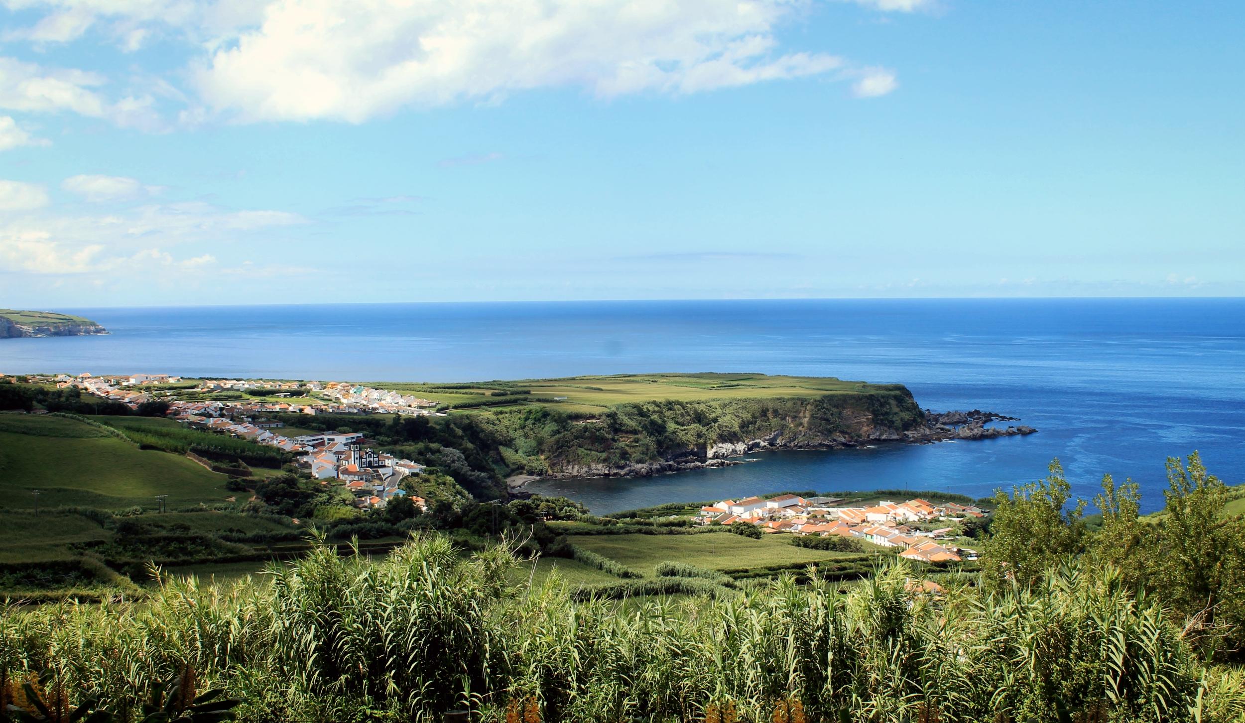 Hintergrundbilder Landschaft Schiff Meer Bucht Wasser Ufer
