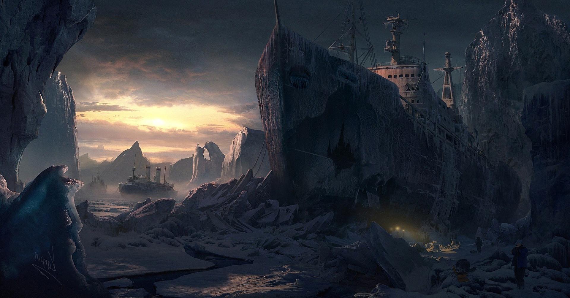 Sfondi paesaggio cielo ghiaccio atmosfera for Immagini astratte per desktop