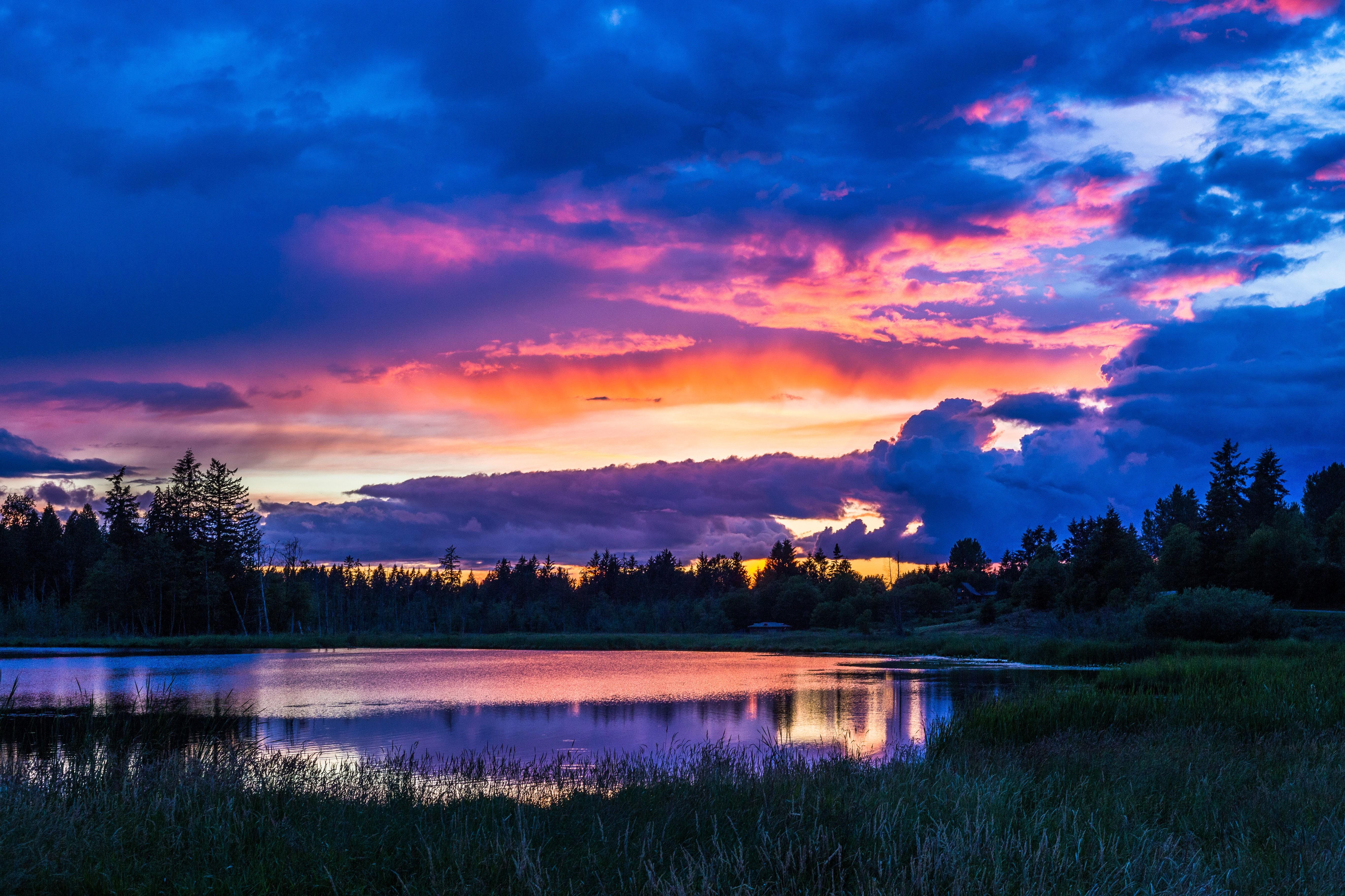 красивые картинки пейзаж закат что