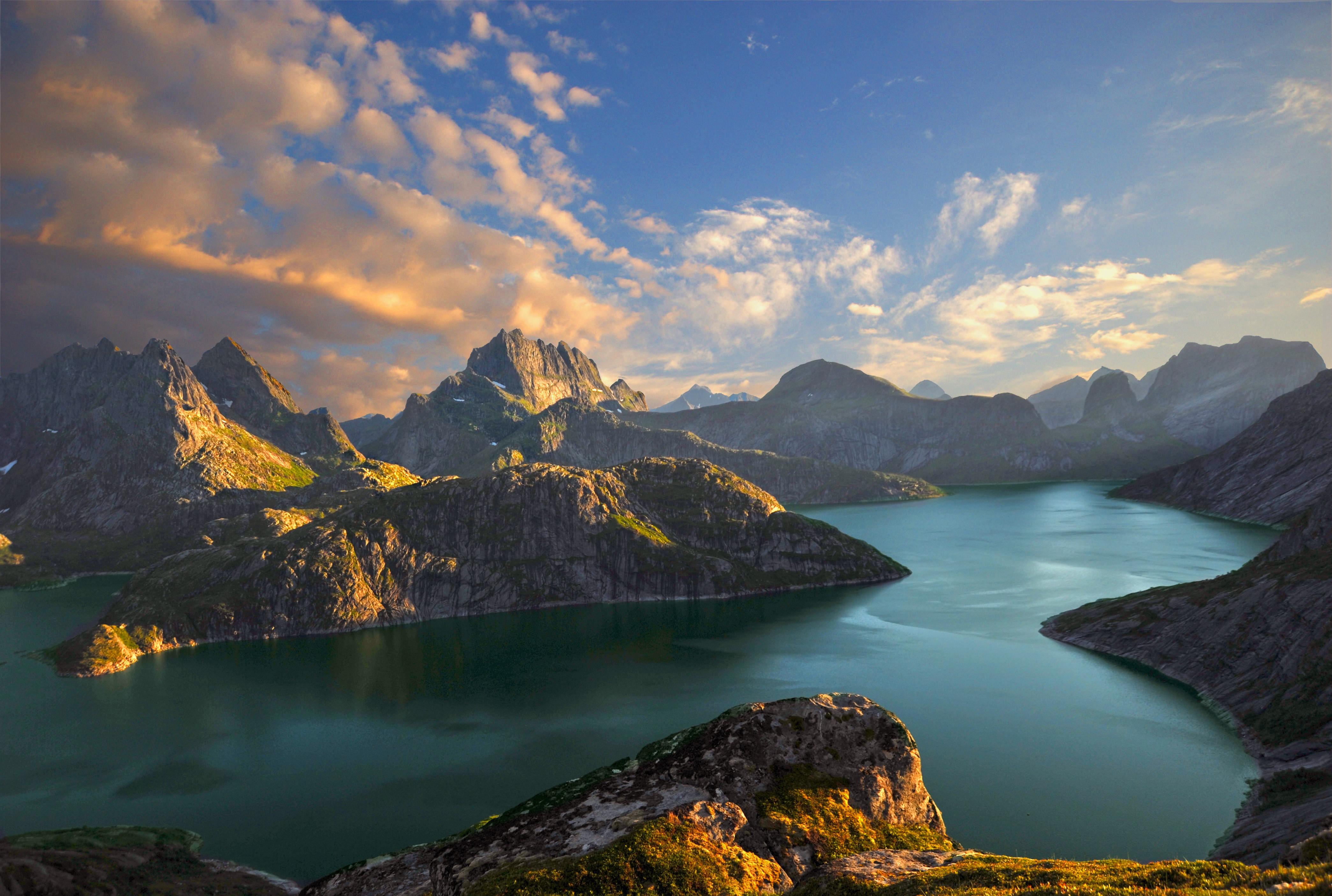 белоснежных море и горы картинки с высоким разрешением для