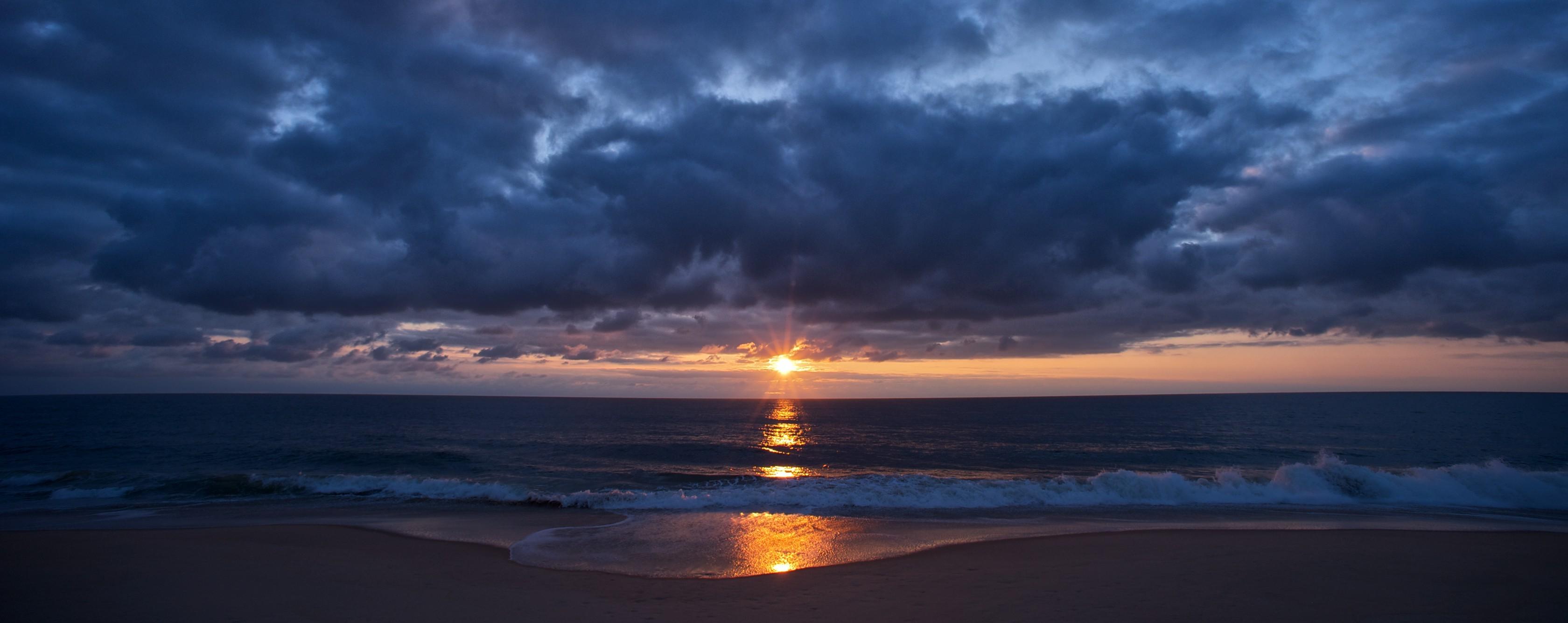 что панорамное фото океан высокое разрешение вот дну, как