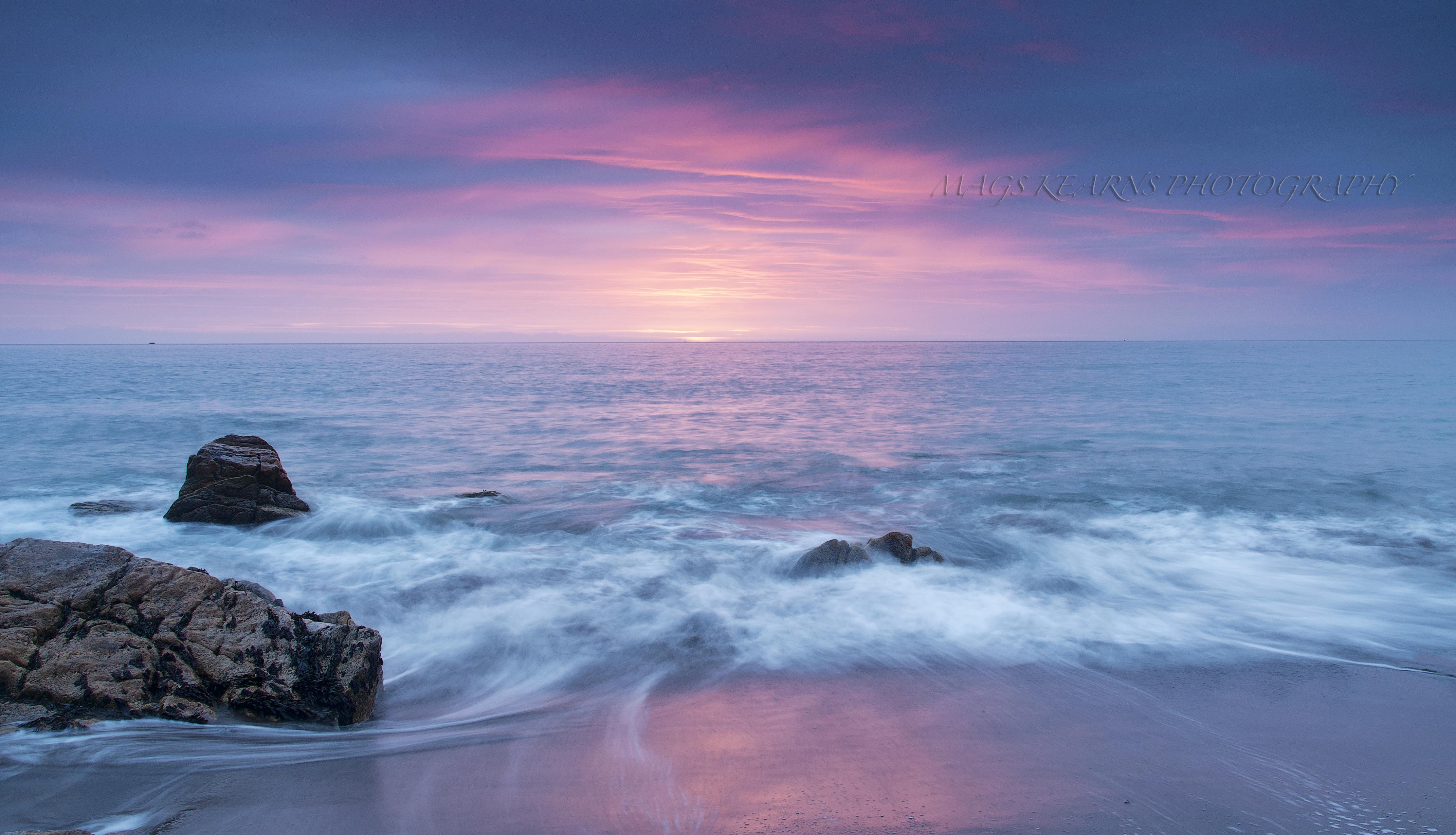Hintergrundbilder Landschaft Sonnenuntergang Meer