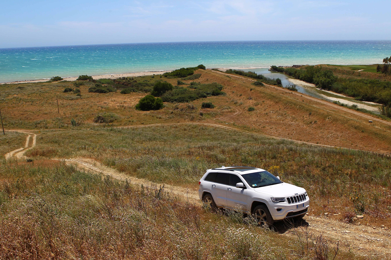 Wallpaper : landscape, vehicle, coast, Jeep, netcarshow