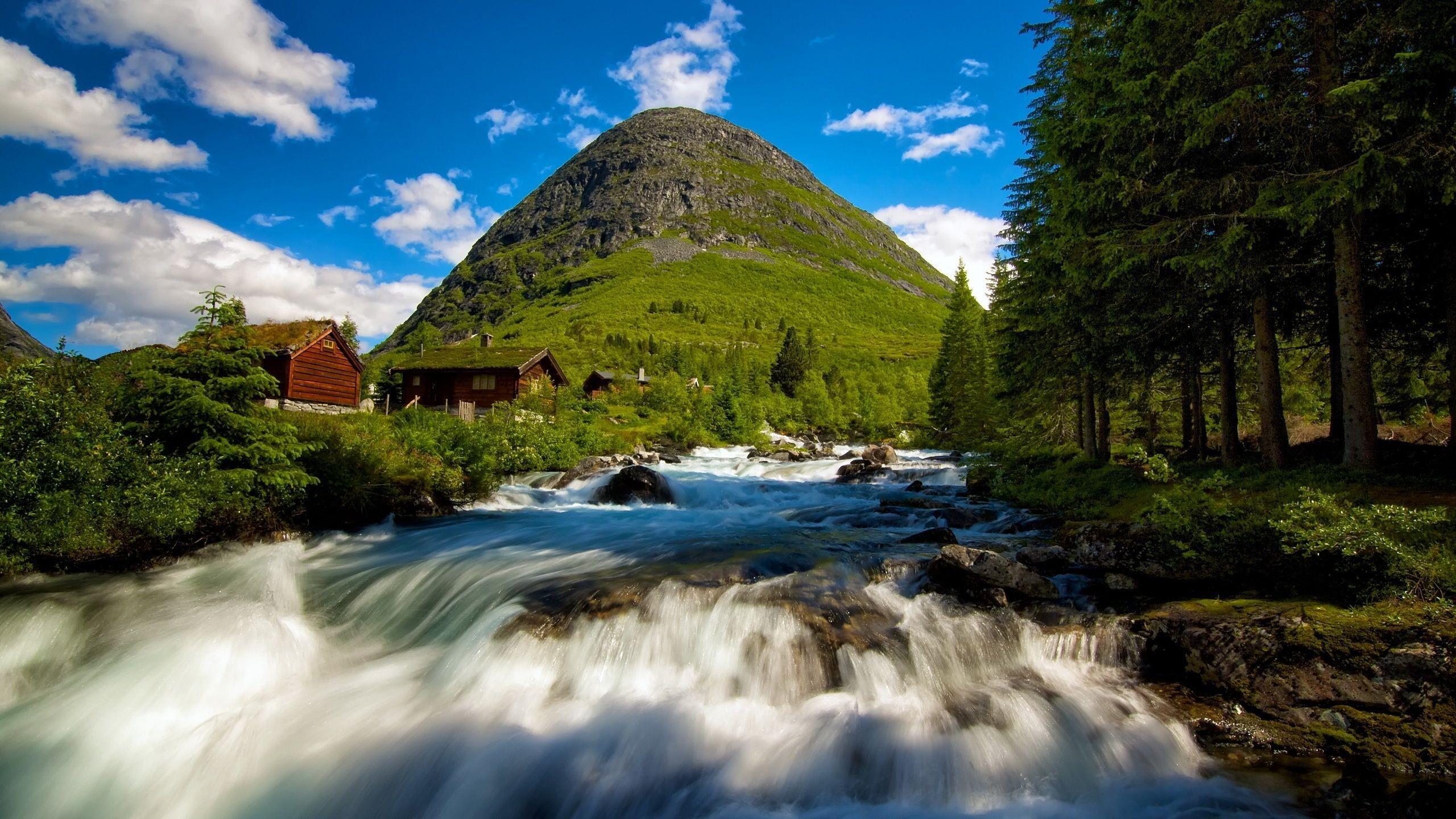 fond d 39 cran paysage cascade eau roche la nature rivi re parc national vall e r gion. Black Bedroom Furniture Sets. Home Design Ideas