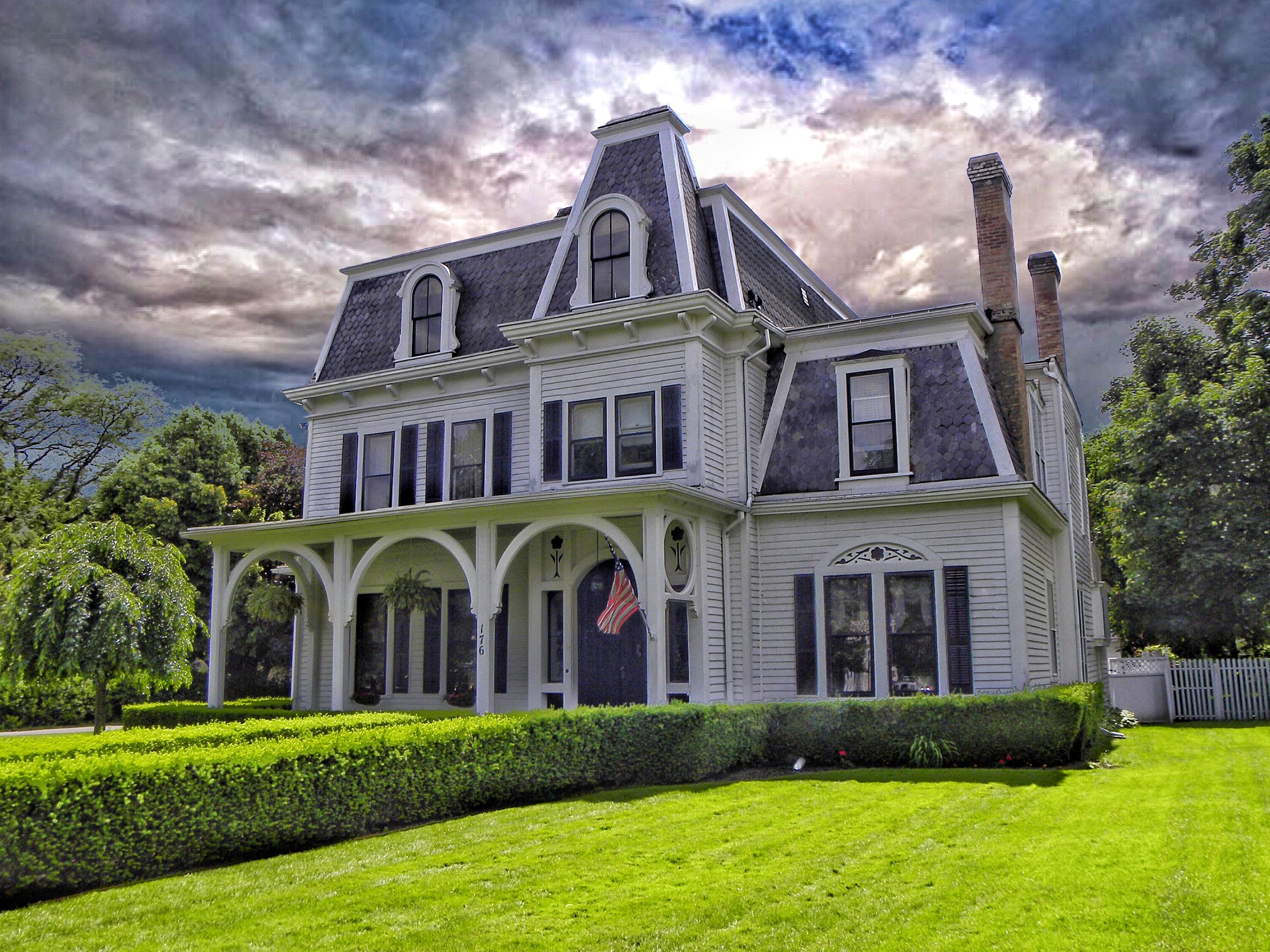 fond d 39 cran paysage fen tre architecture b timent herbe ciel maison drapeau etats. Black Bedroom Furniture Sets. Home Design Ideas