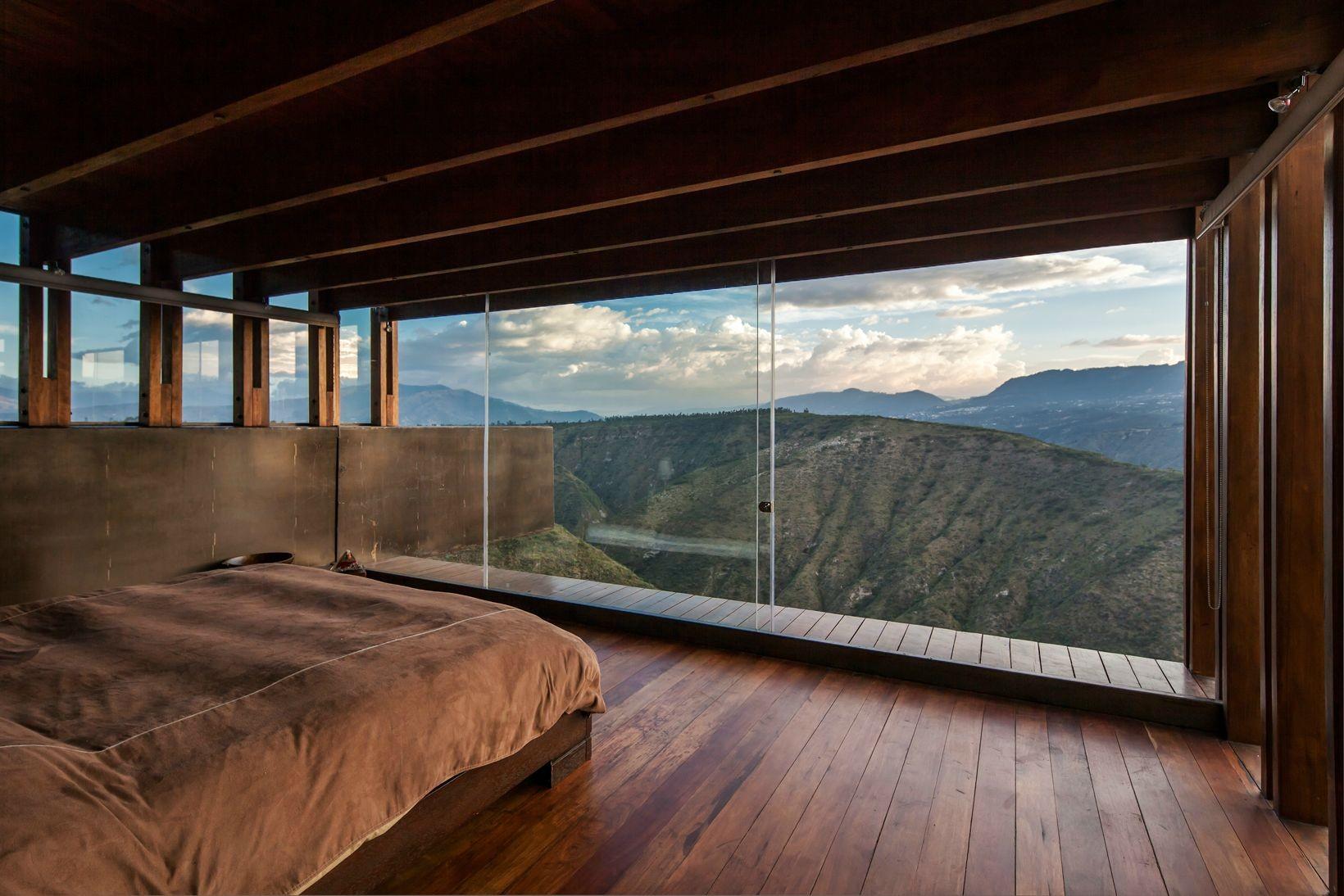 Baggrunde : landskab, vindue, arkitektur, natur, værelse, seng, væg ...