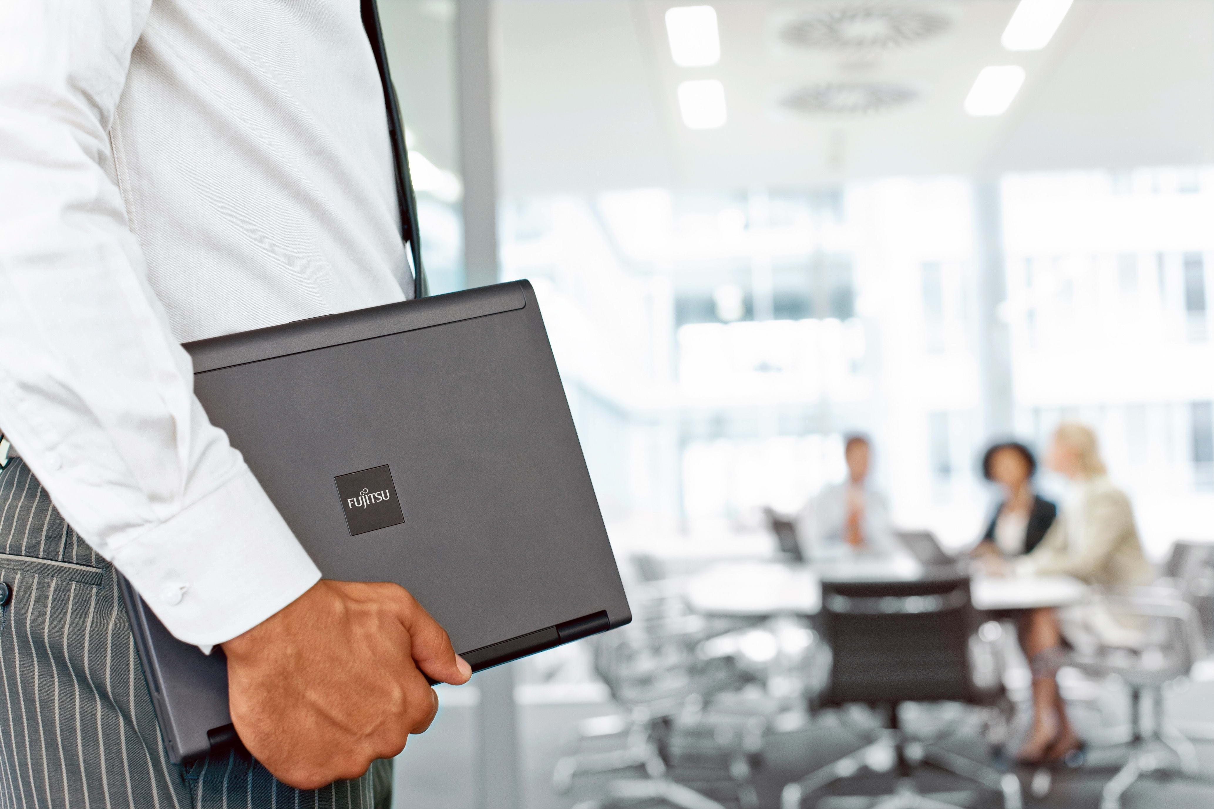 Laptop Man Hand Product Businessman