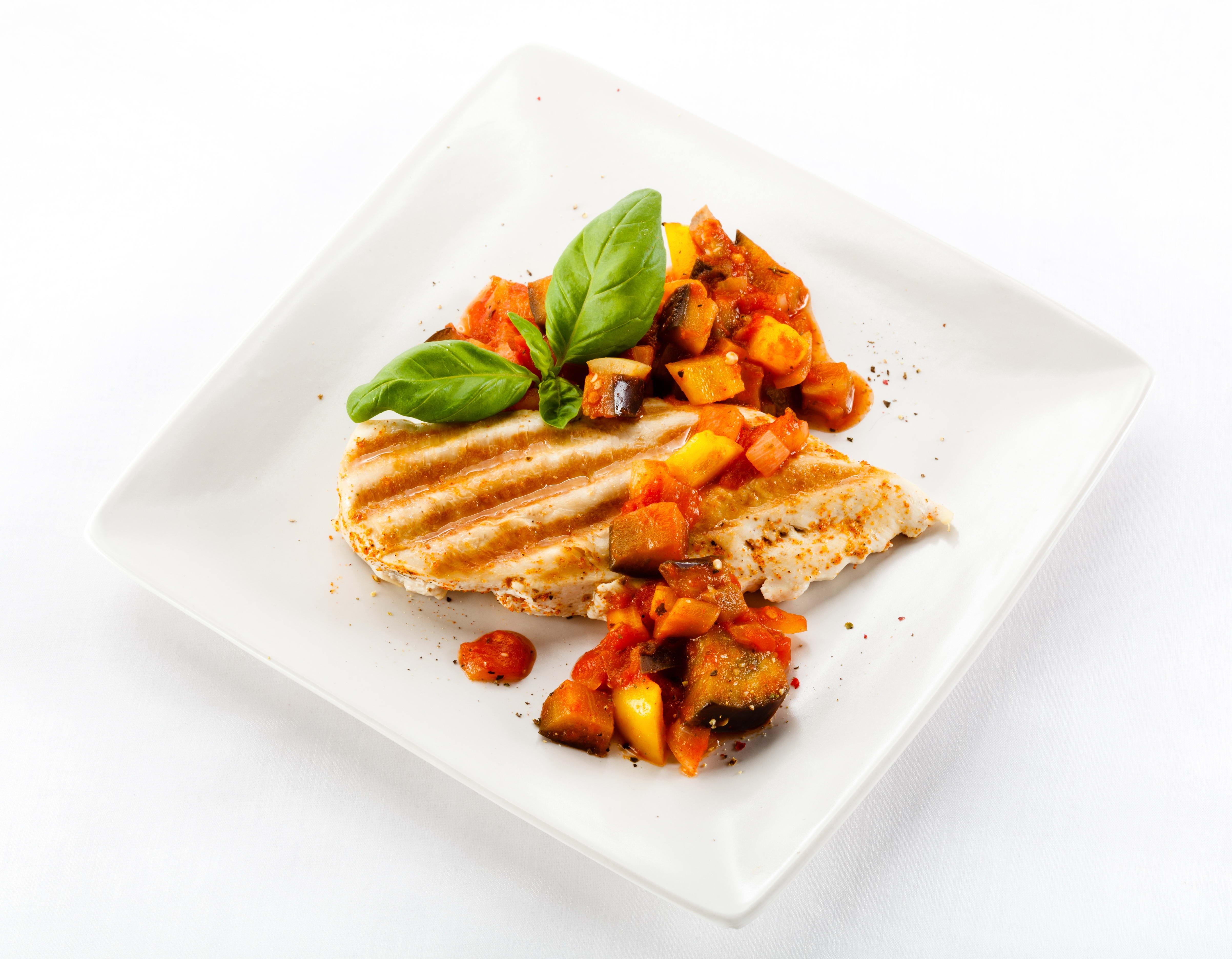 Hintergrundbilder : Blätter, Lebensmittel, Fleisch, Fisch, Teller ...