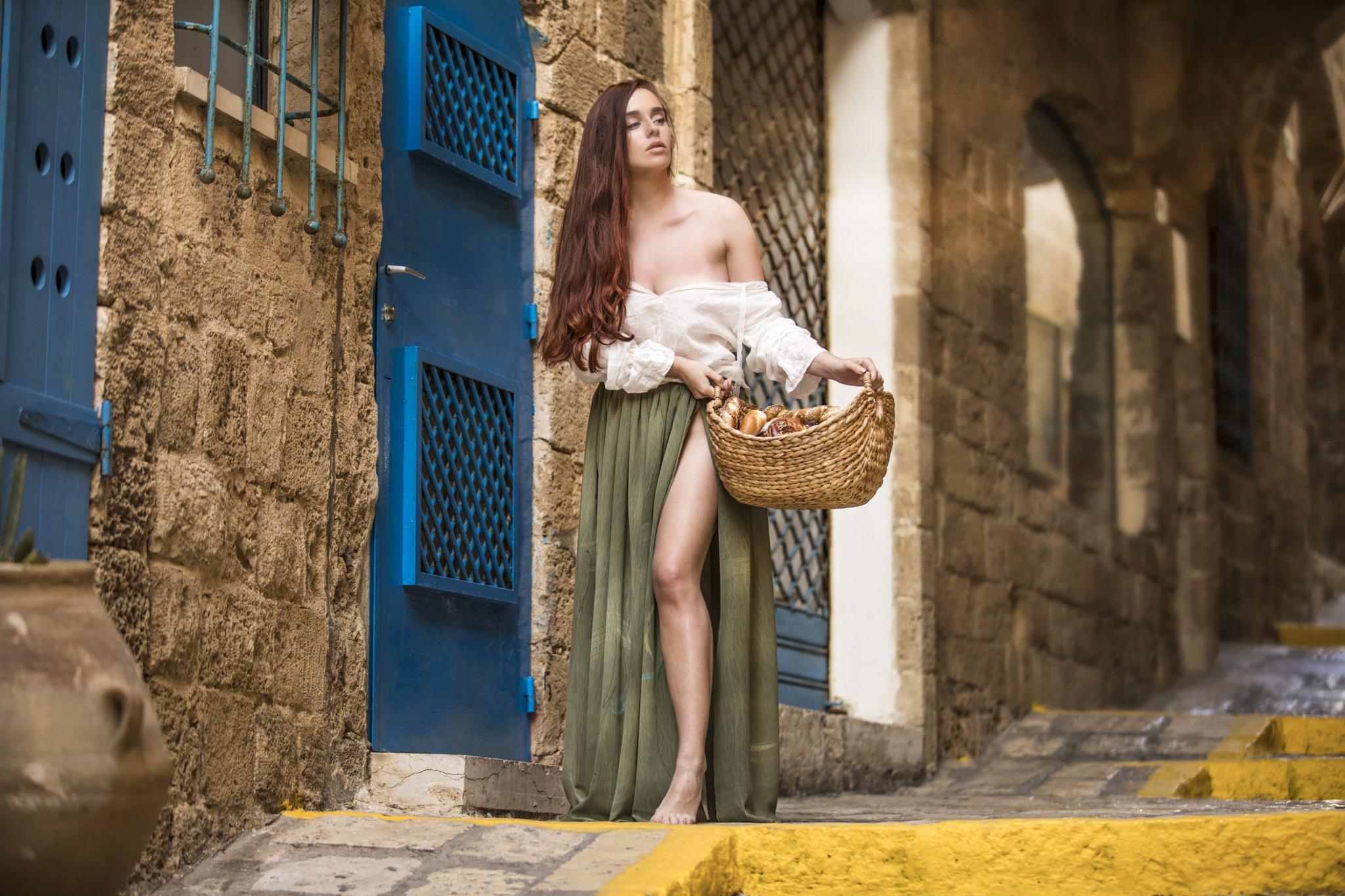 Wallpaper Legs Long Hair Fantasy Girl Barefoot Women