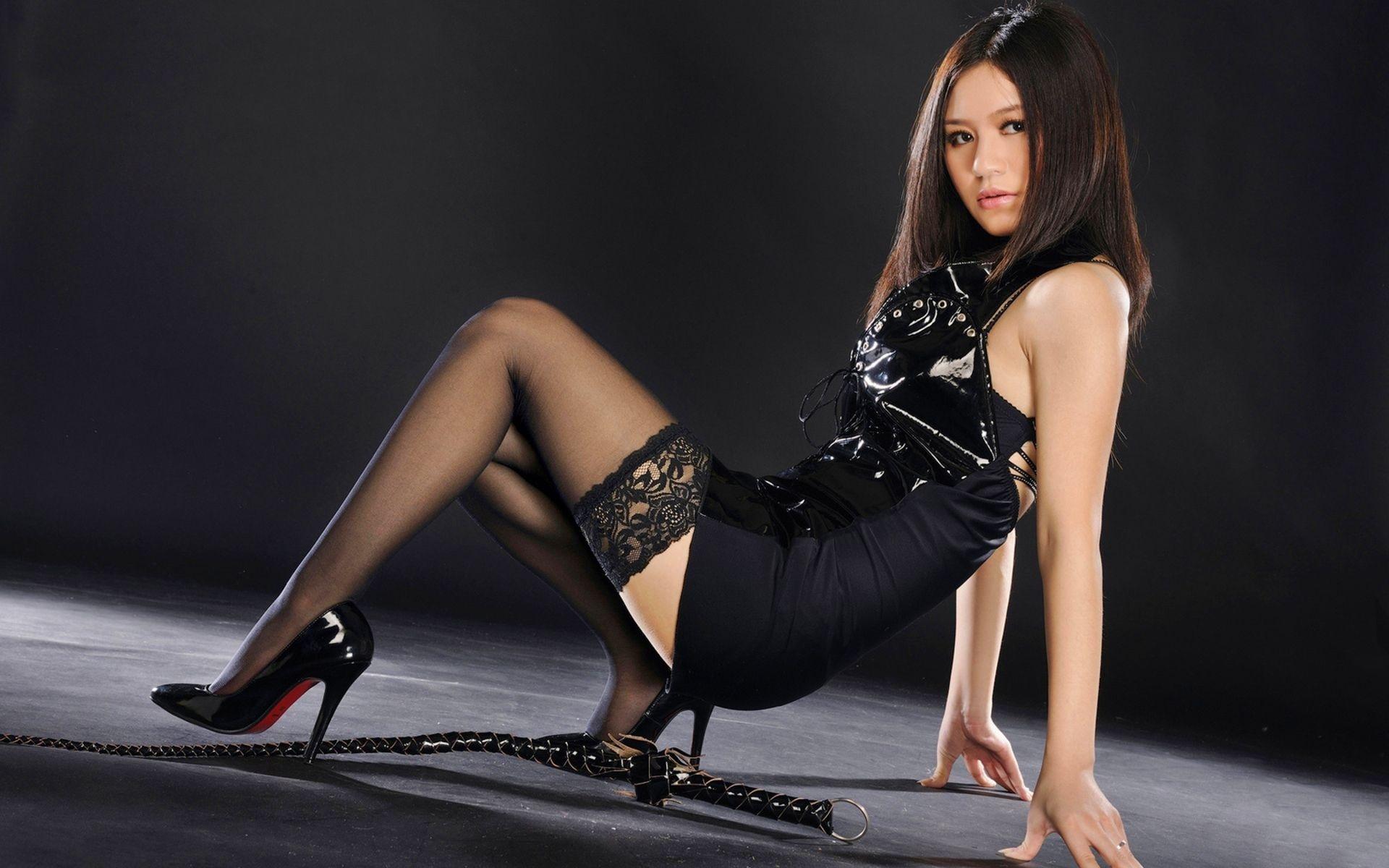 Wallpaper  Legs, Stockings, High Heels, Women, Model -7899