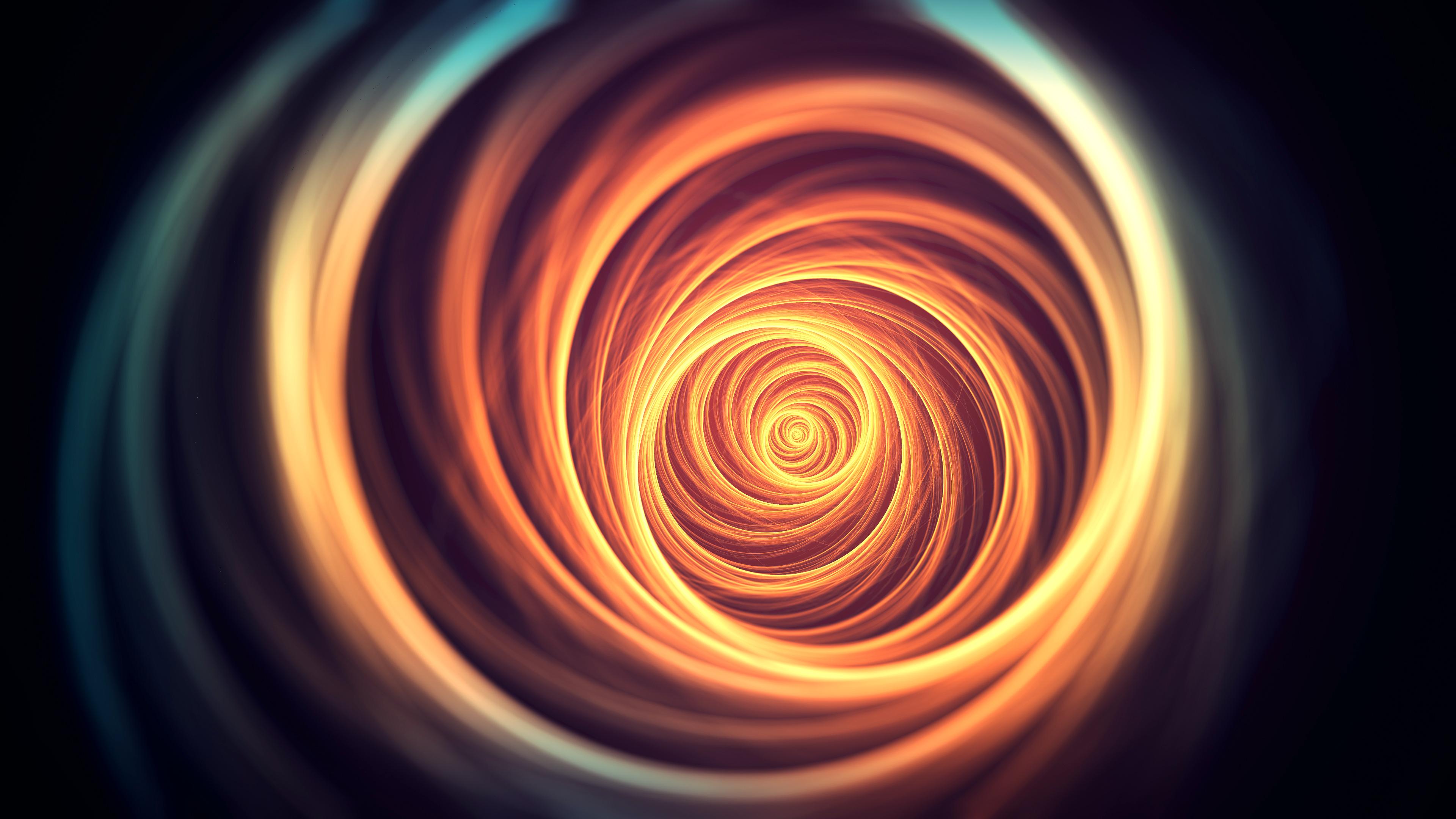 Wallpaper Light Wallpaper Orange White Abstract