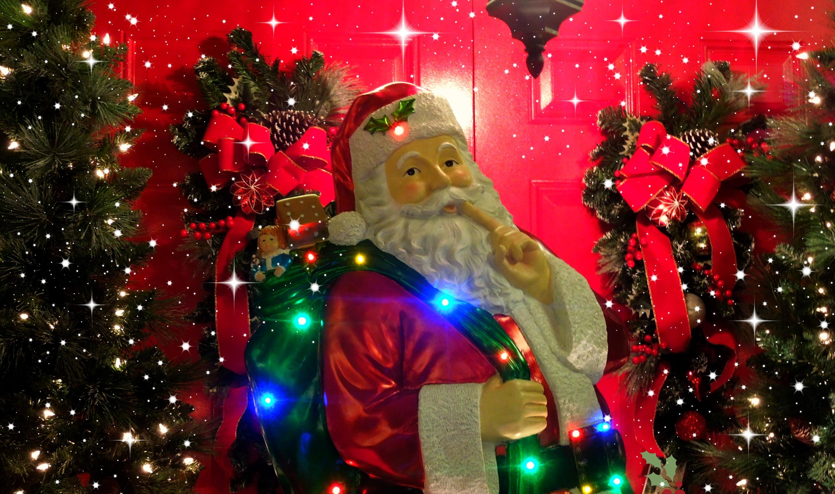 Weihnachtsbeleuchtung Kranz.Hintergrundbilder Beleuchtung Weihnachtsbaum Weihnachten Urlaub