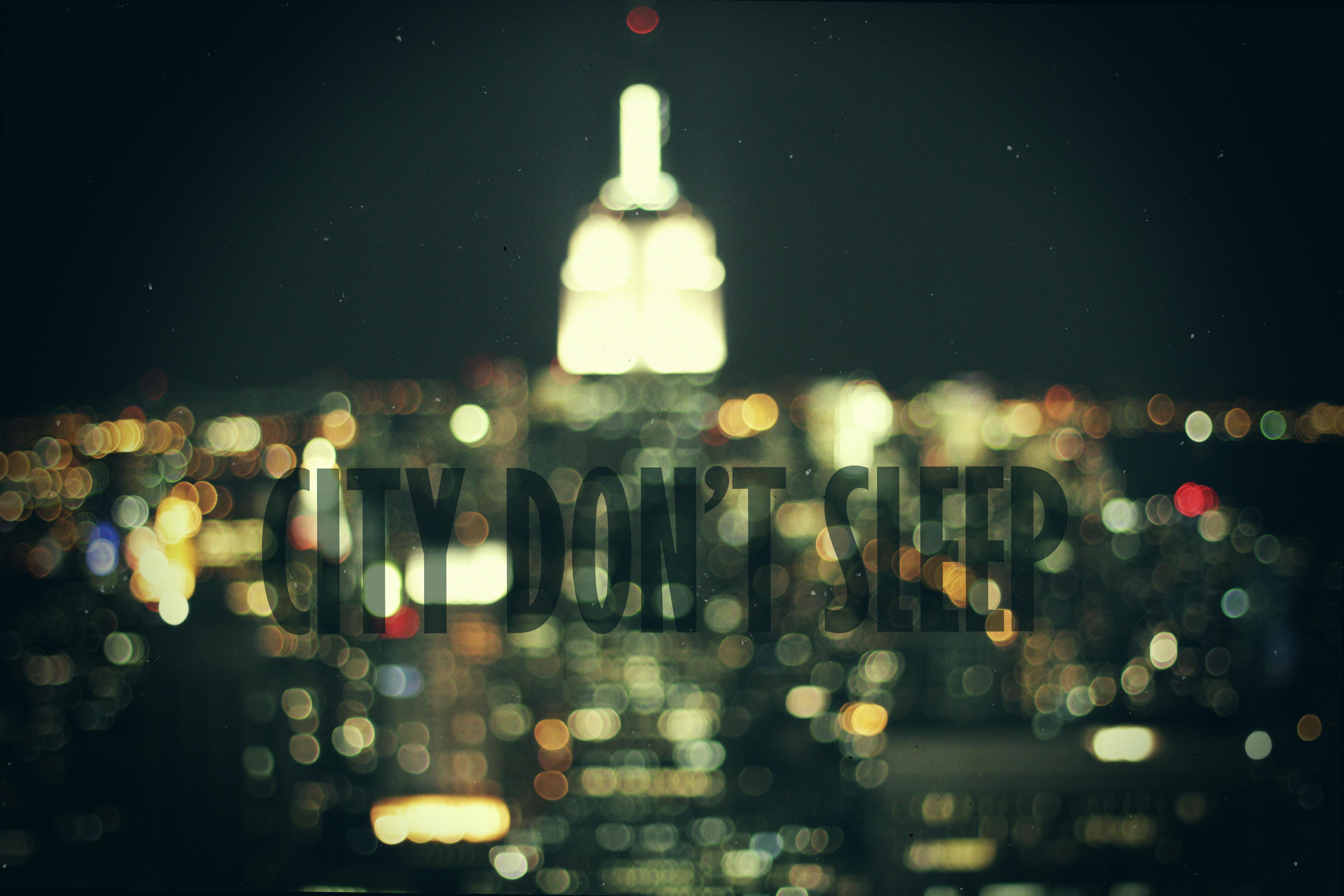 Masaüstü Işıklar şehir Yansıma Gökyüzü Fotoğraf Metin
